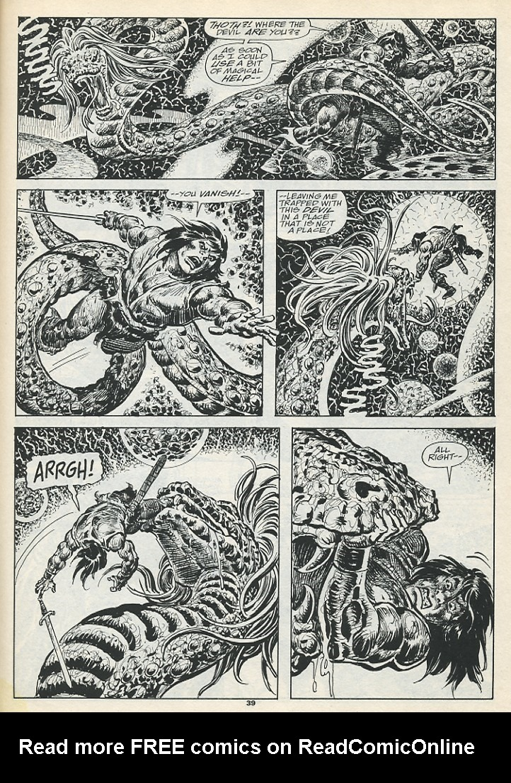 The Savage Sword Of Conan Issue #193 #194 - English 41