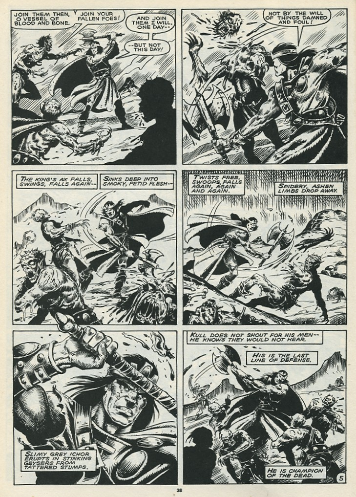 The Savage Sword Of Conan Issue #172 #173 - English 40