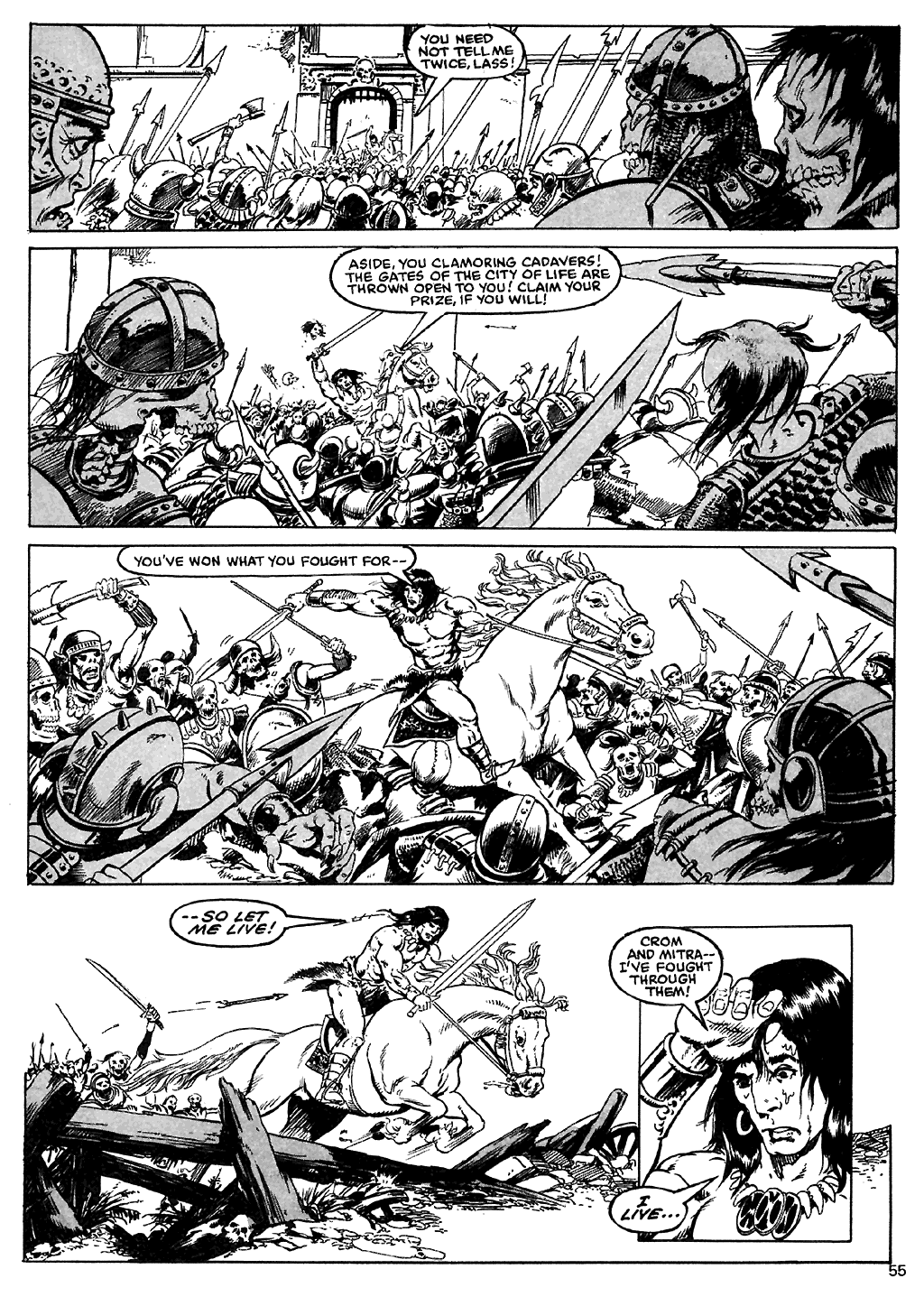 The Savage Sword Of Conan Issue #110 #111 - English 53