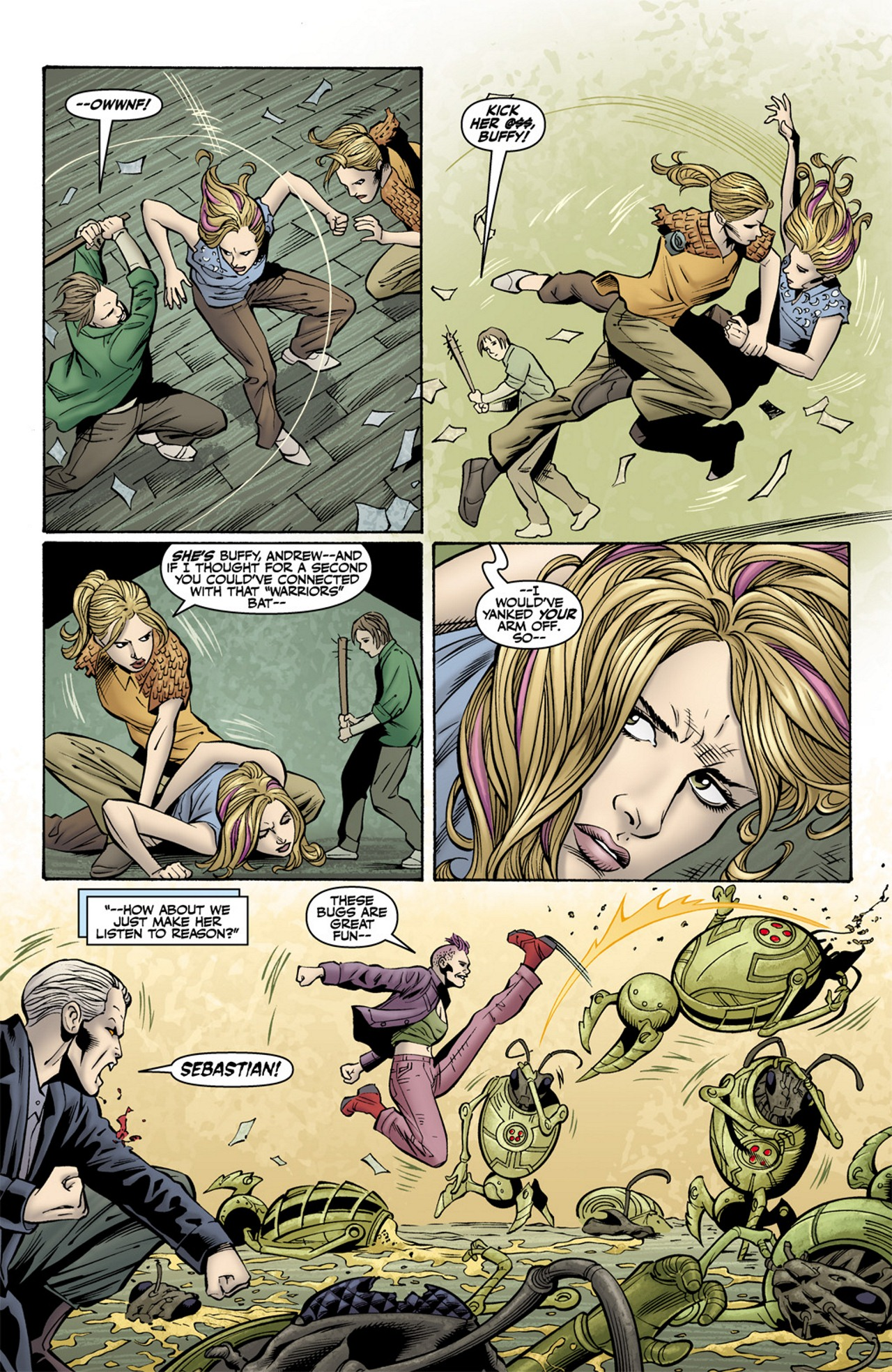 Read online Buffy the Vampire Slayer Season Nine comic -  Issue #10 - 15
