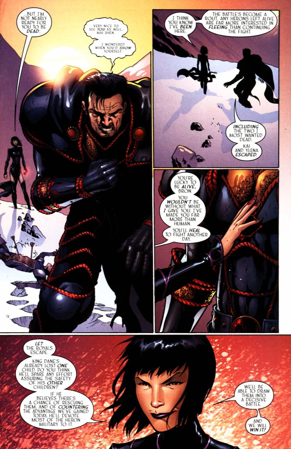 Read online Scion comic -  Issue #22 - 25