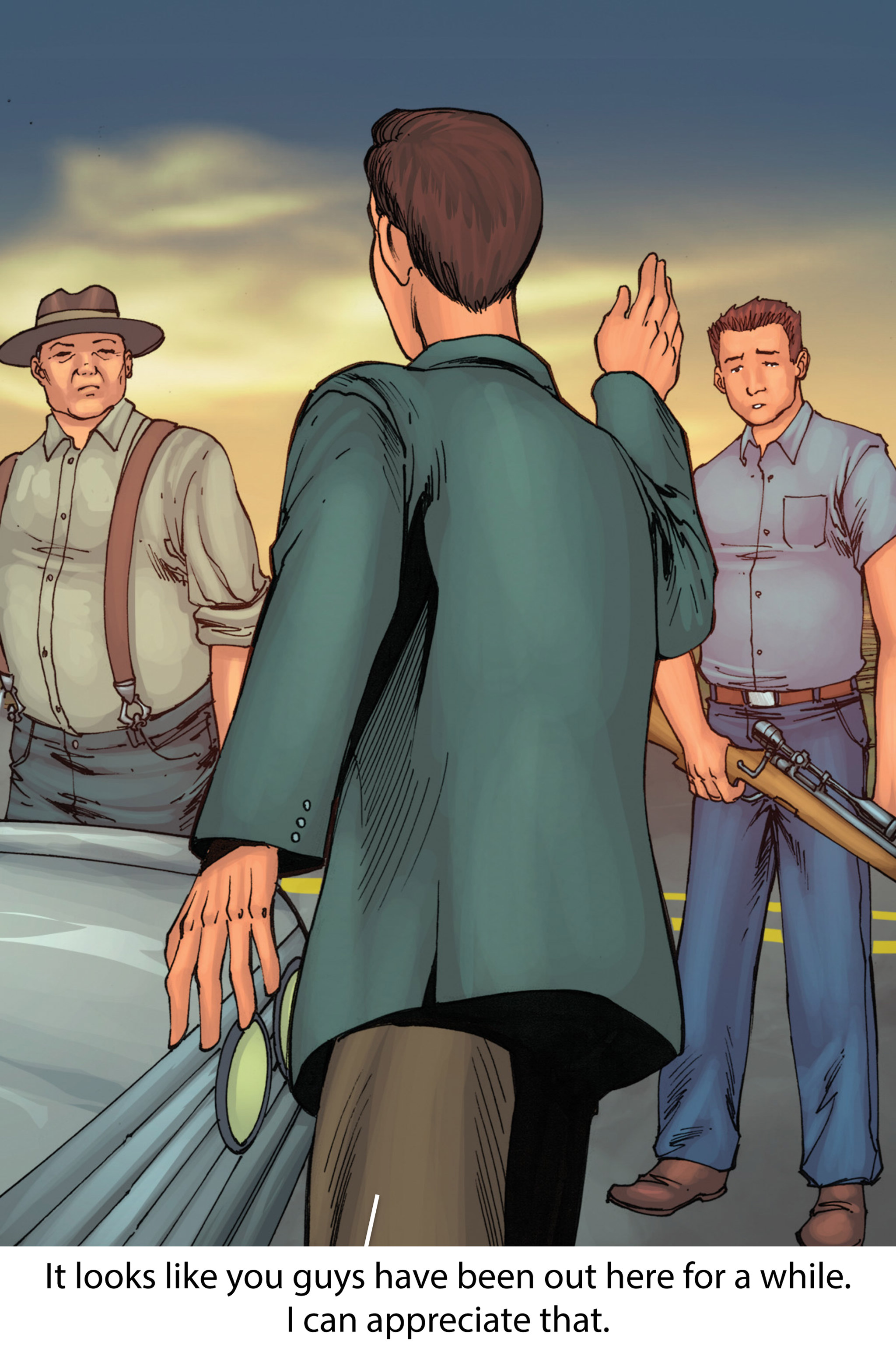 Read online Z-Men comic -  Issue #1 - 130