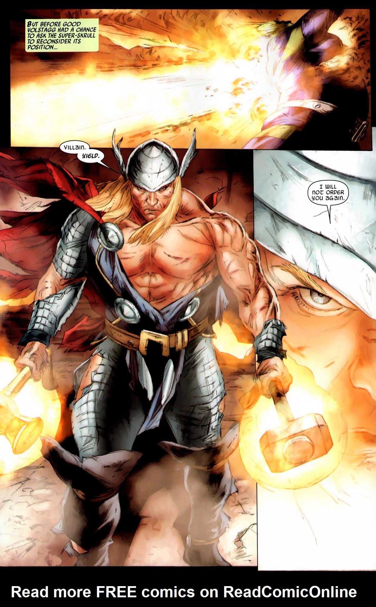 Read online Secret Invasion: Thor comic -  Issue #3 - 16