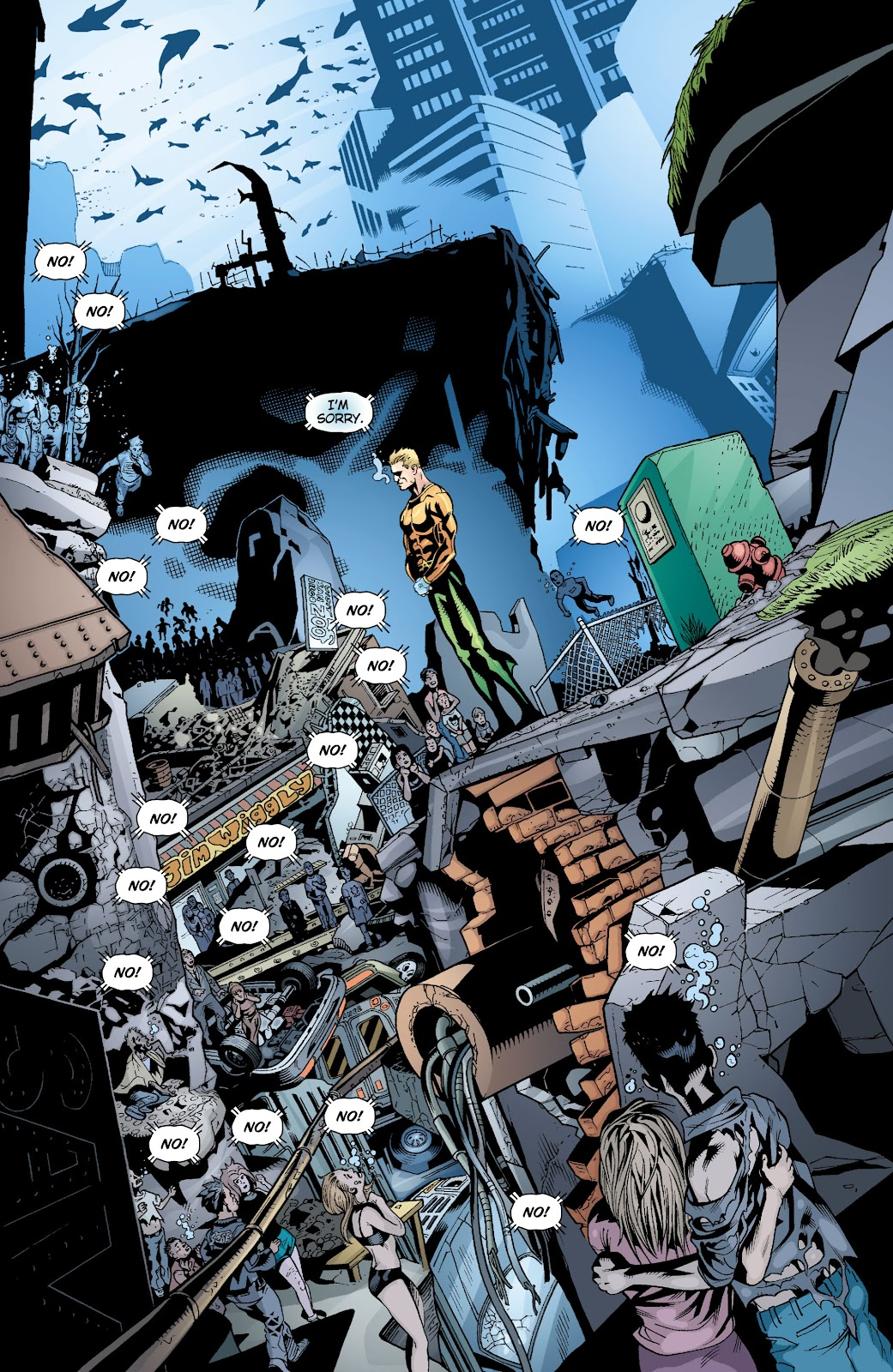 Aquaman (2003) Issue #17 #17 - English 11