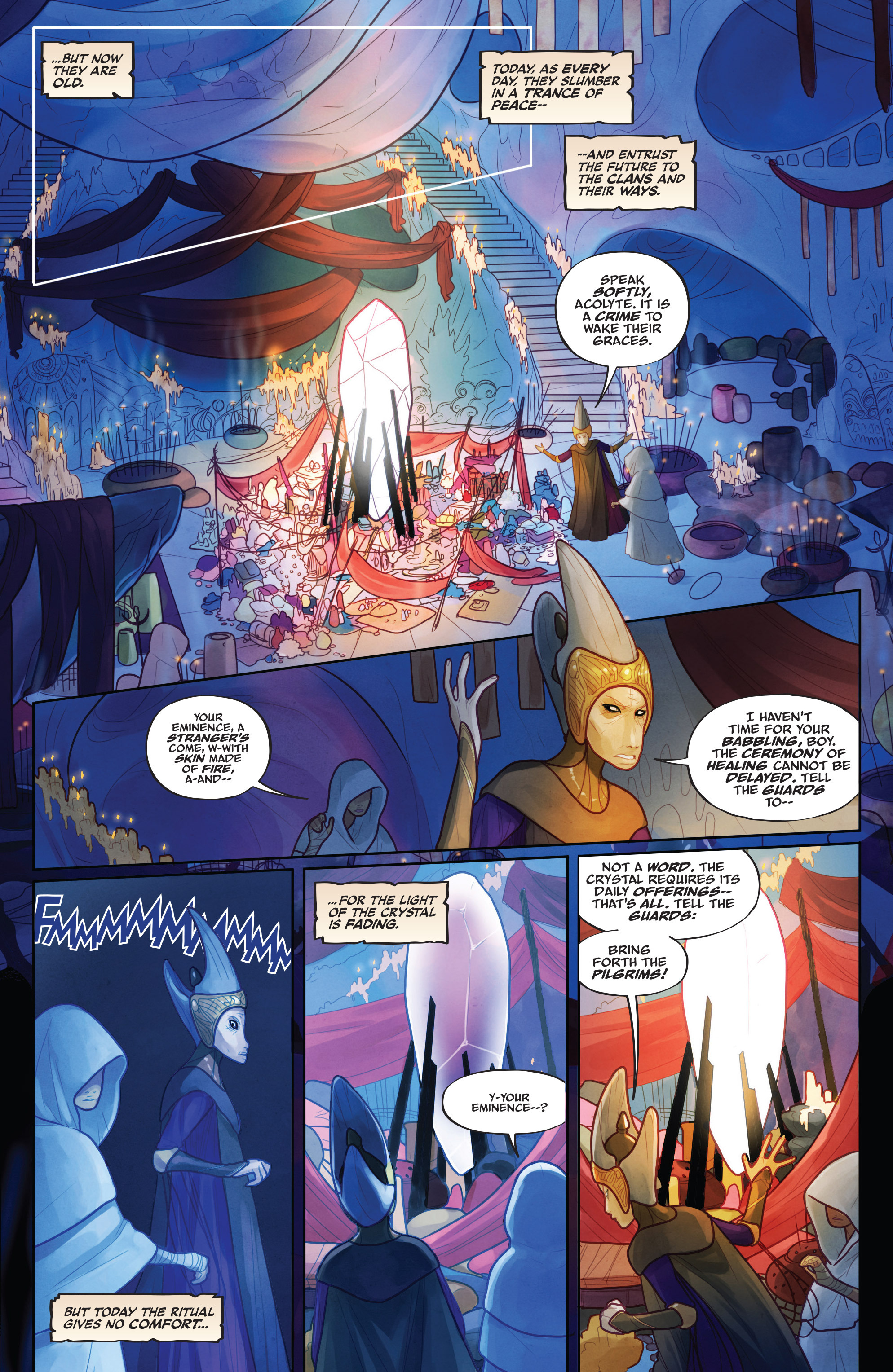 The Power of the Dark Crystal 1 Page 8