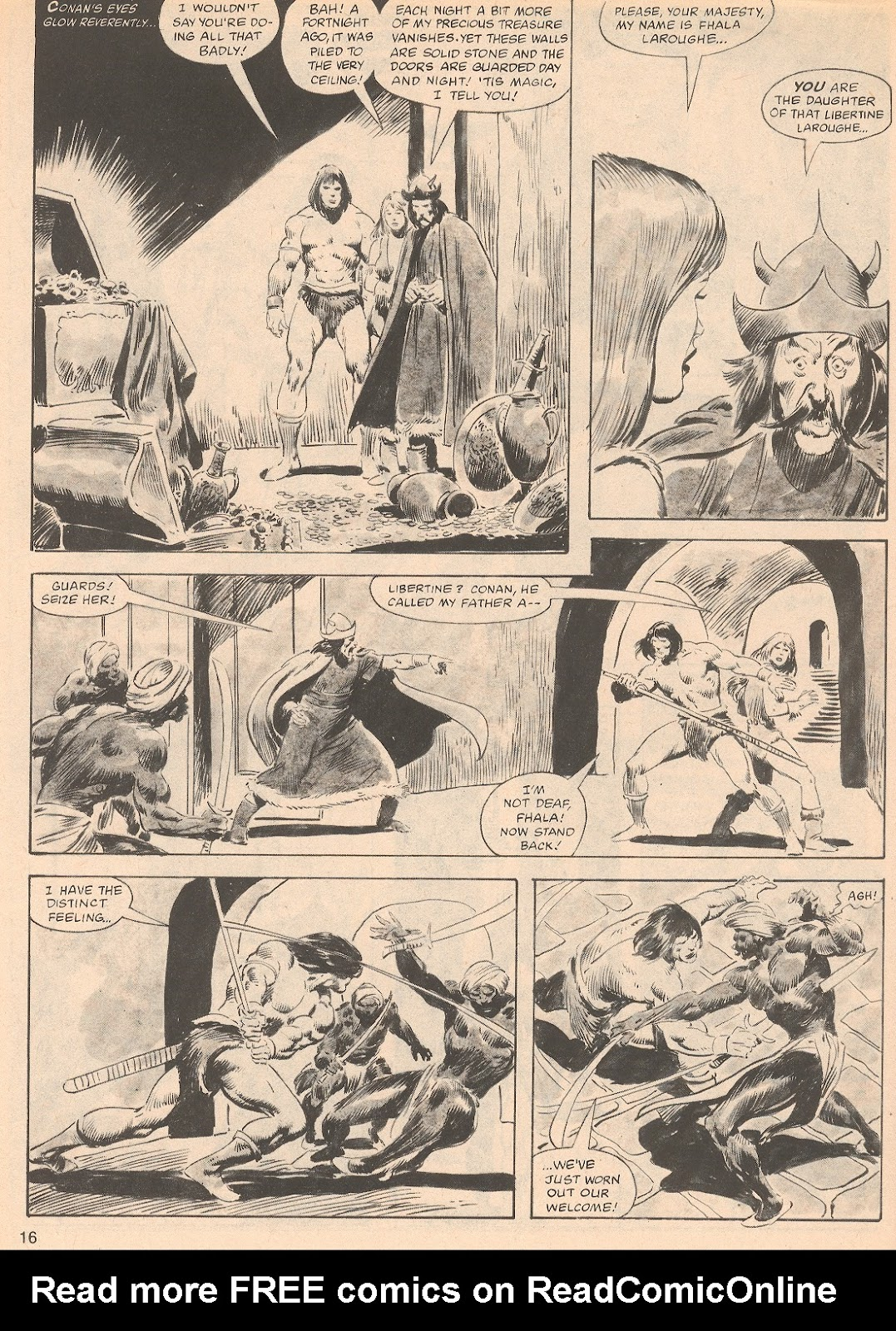 The Savage Sword Of Conan Issue #70 #71 - English 16