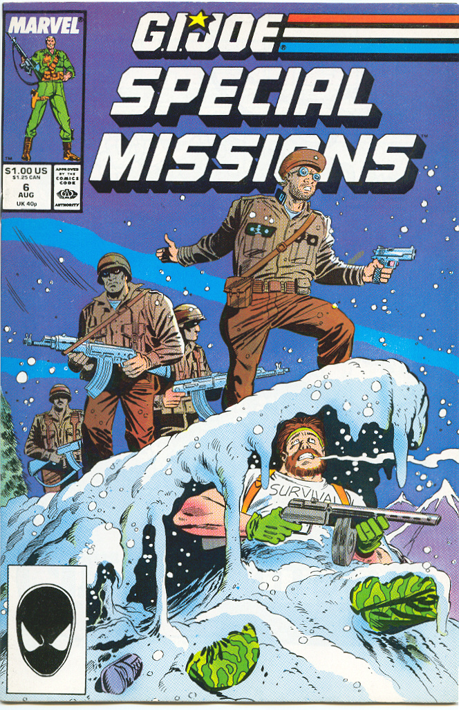 G.I. Joe Special Missions 6 Page 1