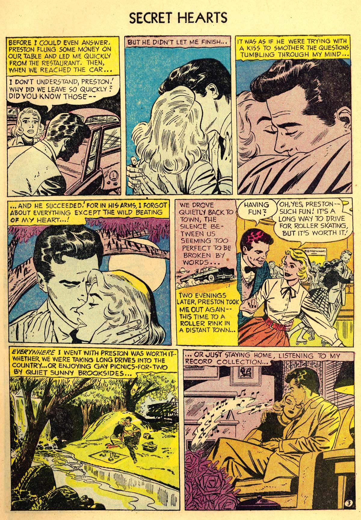 Read online Secret Hearts comic -  Issue #35 - 5