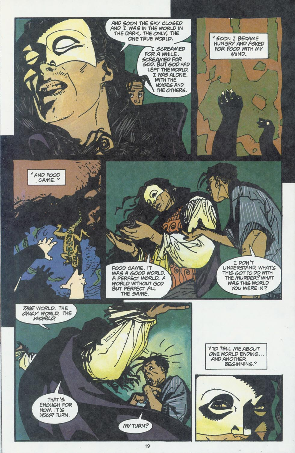 Read online Enigma comic -  Issue #6 - 21