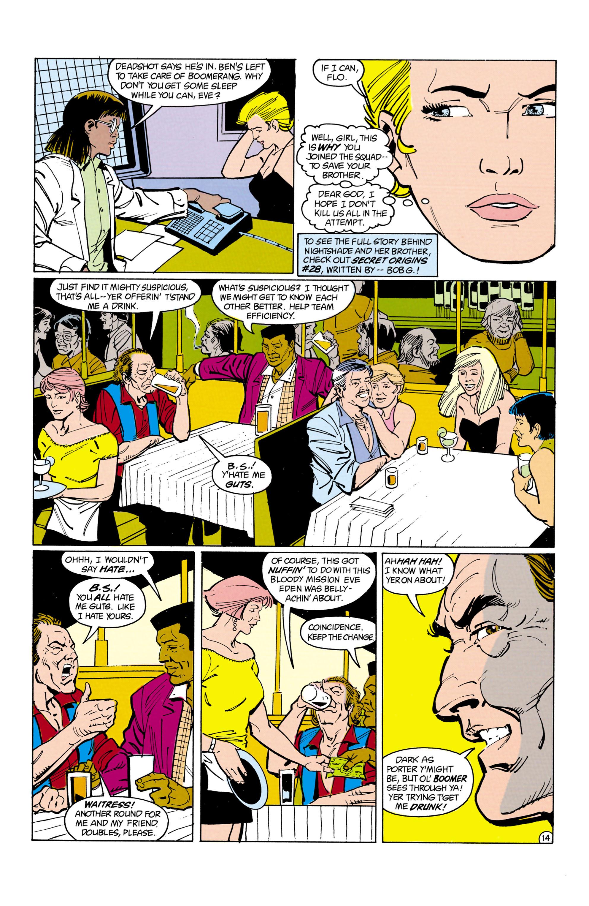 Suicide Squad (1987) 14 Page 14