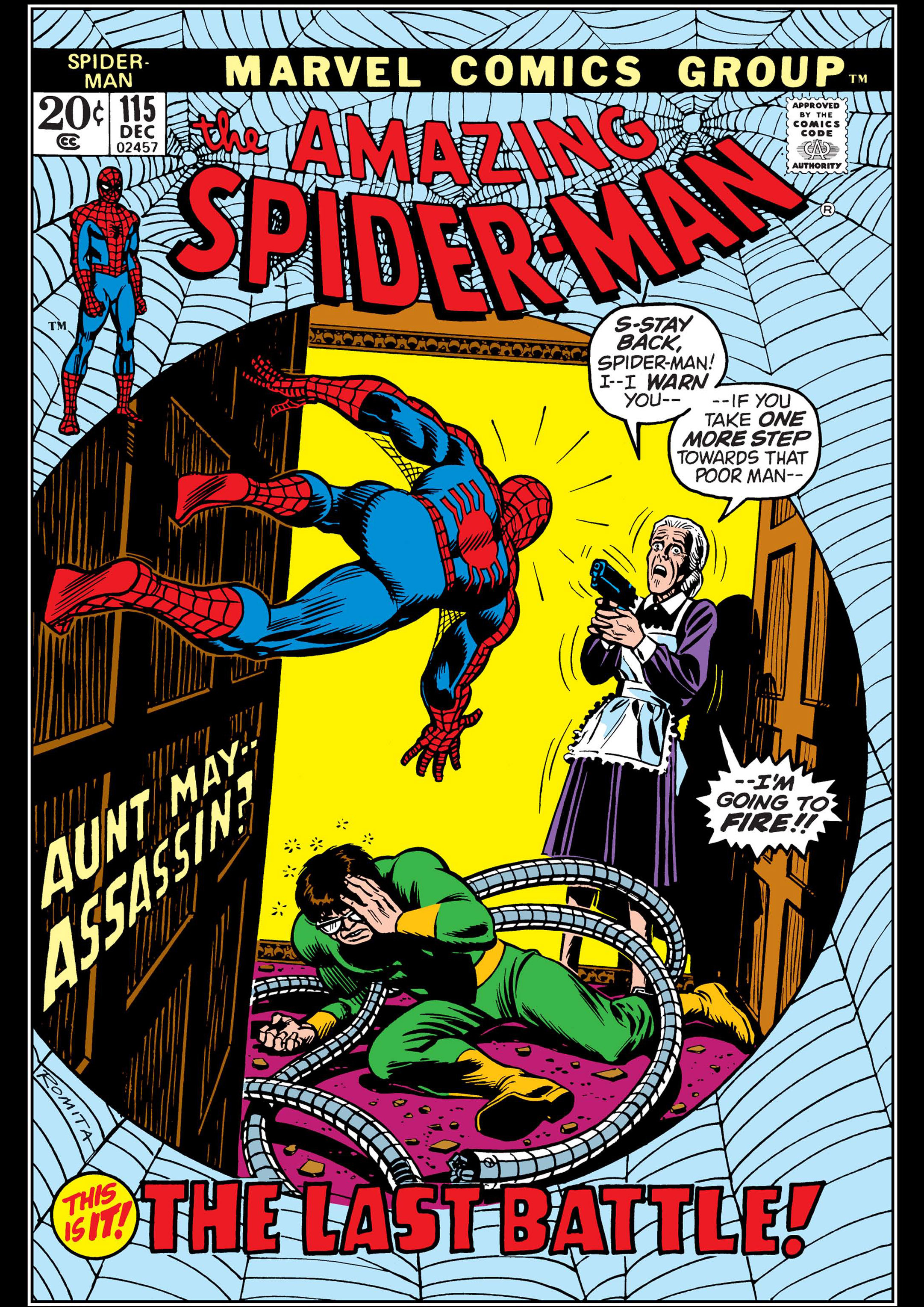 The Amazing Spider-Man (1963) 115 Page 1
