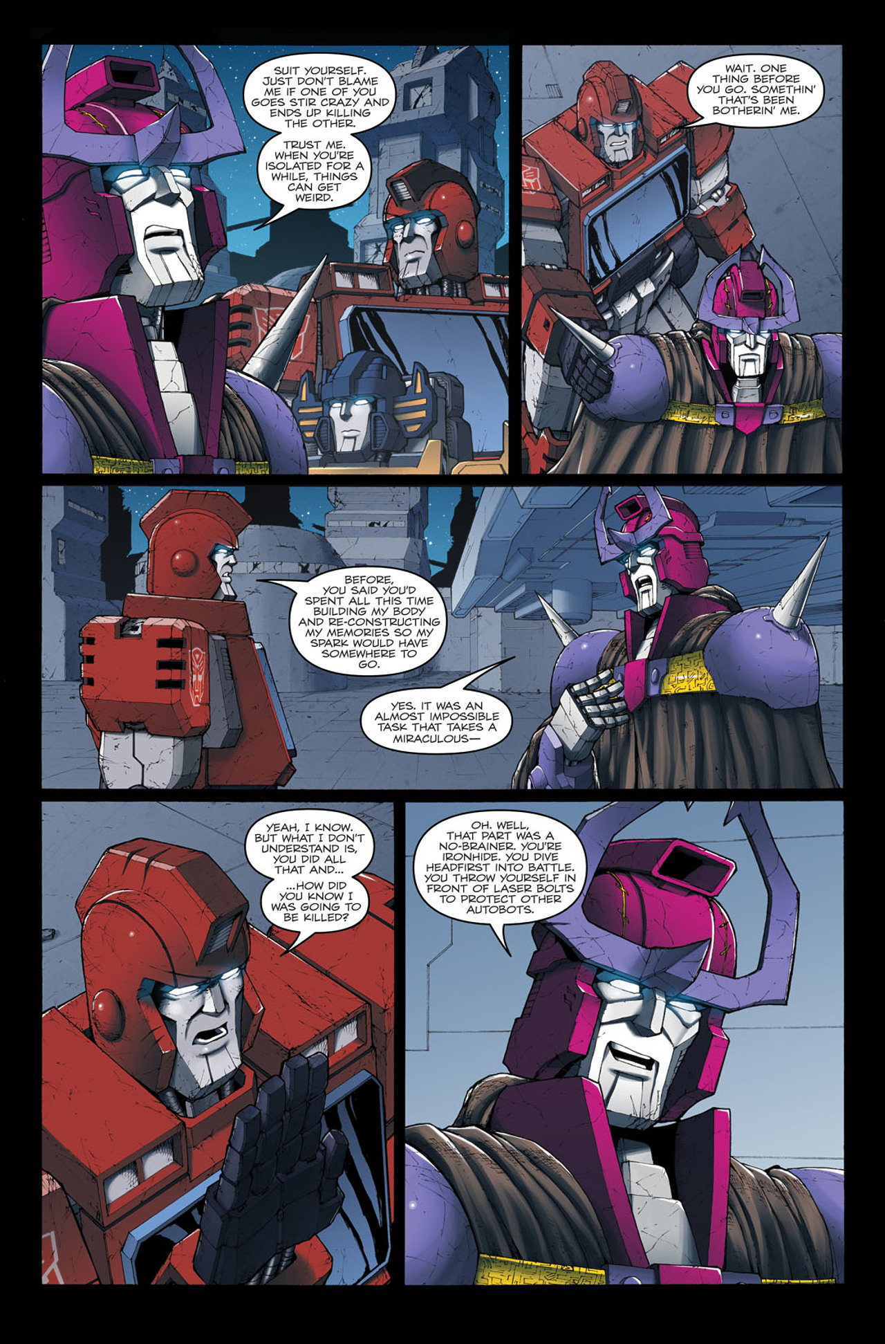 Read online The Transformers: Ironhide comic -  Issue #4 - 22