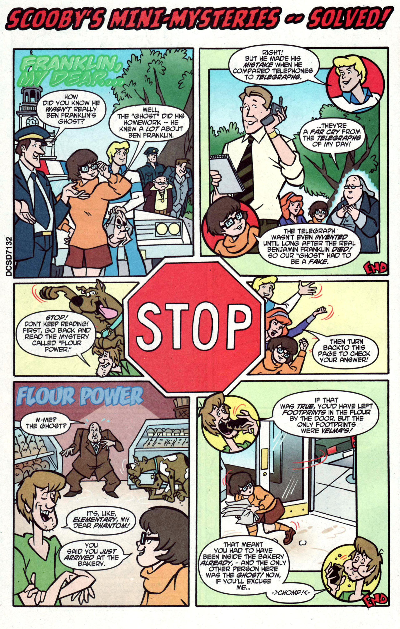 Read online Scooby-Doo (1997) comic -  Issue #122 - 32
