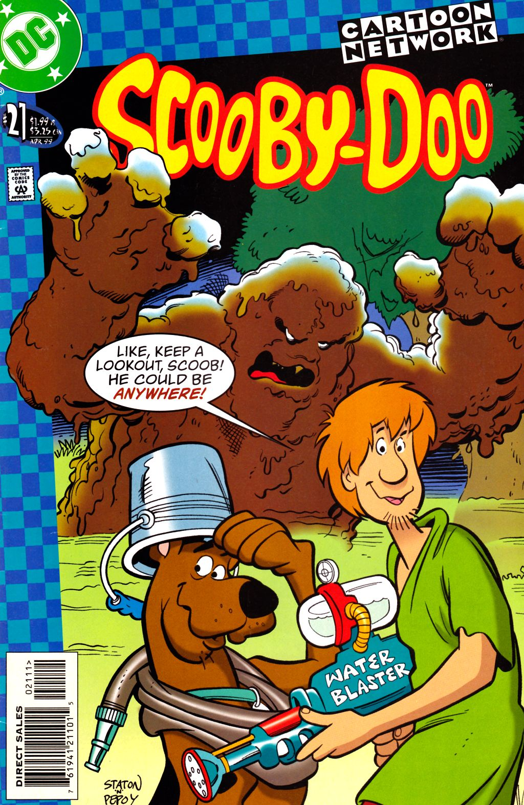 Read online Scooby-Doo (1997) comic -  Issue #21 - 1