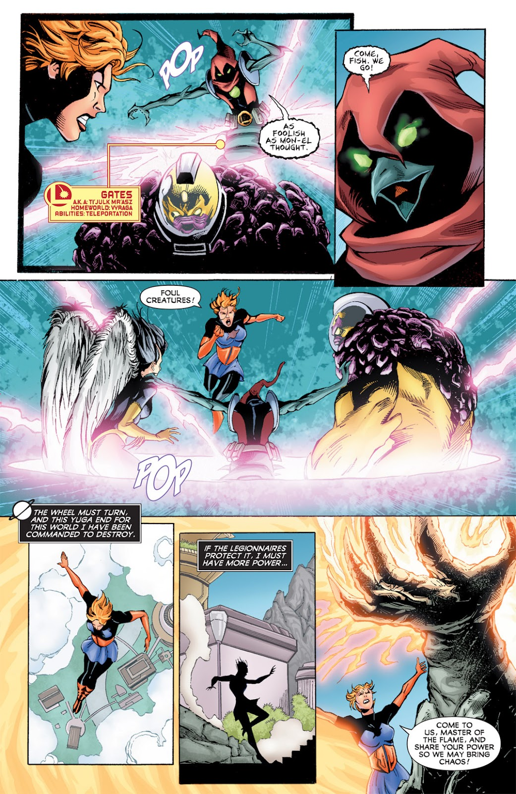 Legion of Super-Heroes (2010) Issue #15 #16 - English 10