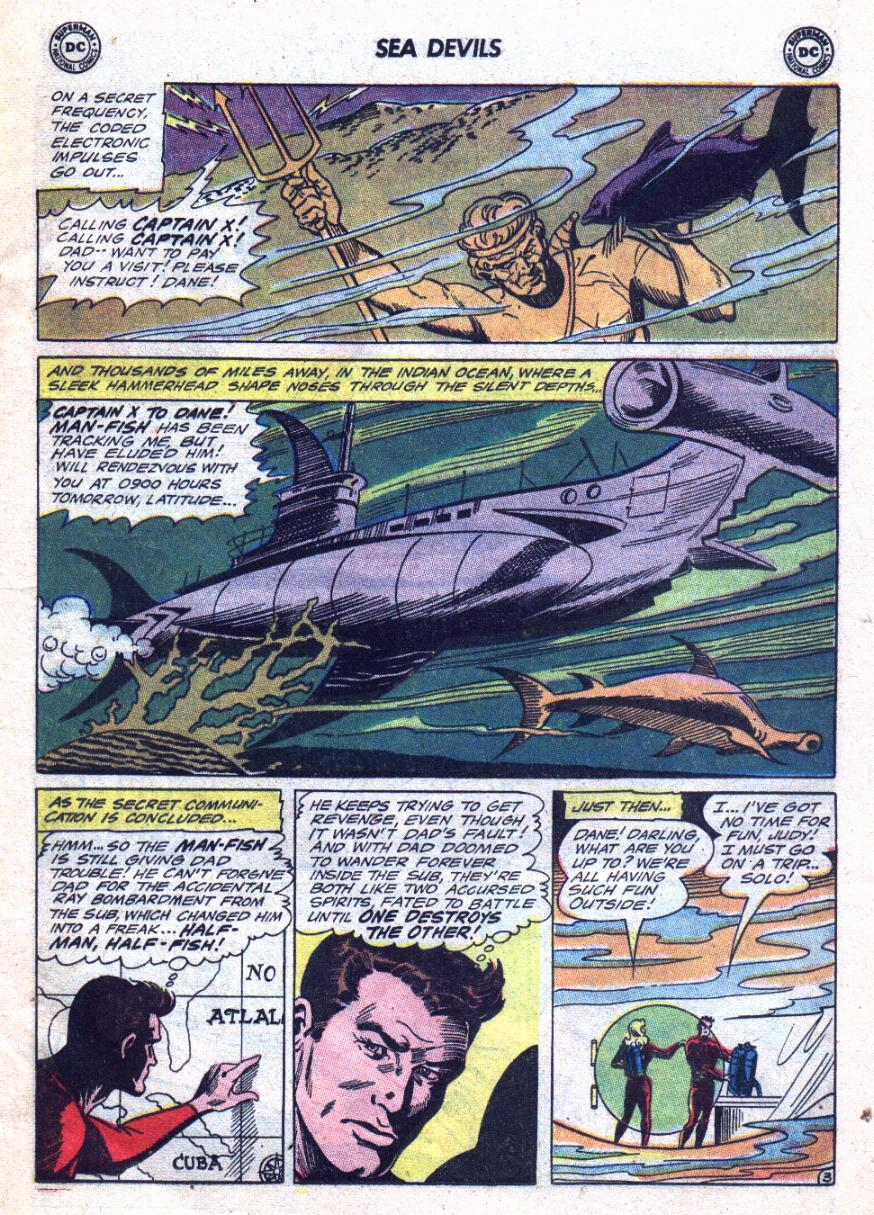 Read online Sea Devils comic -  Issue #24 - 6