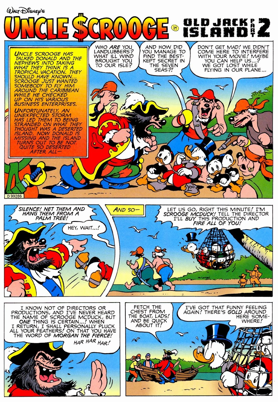 Uncle Scrooge (1953) Issue #326 #326 - English 59