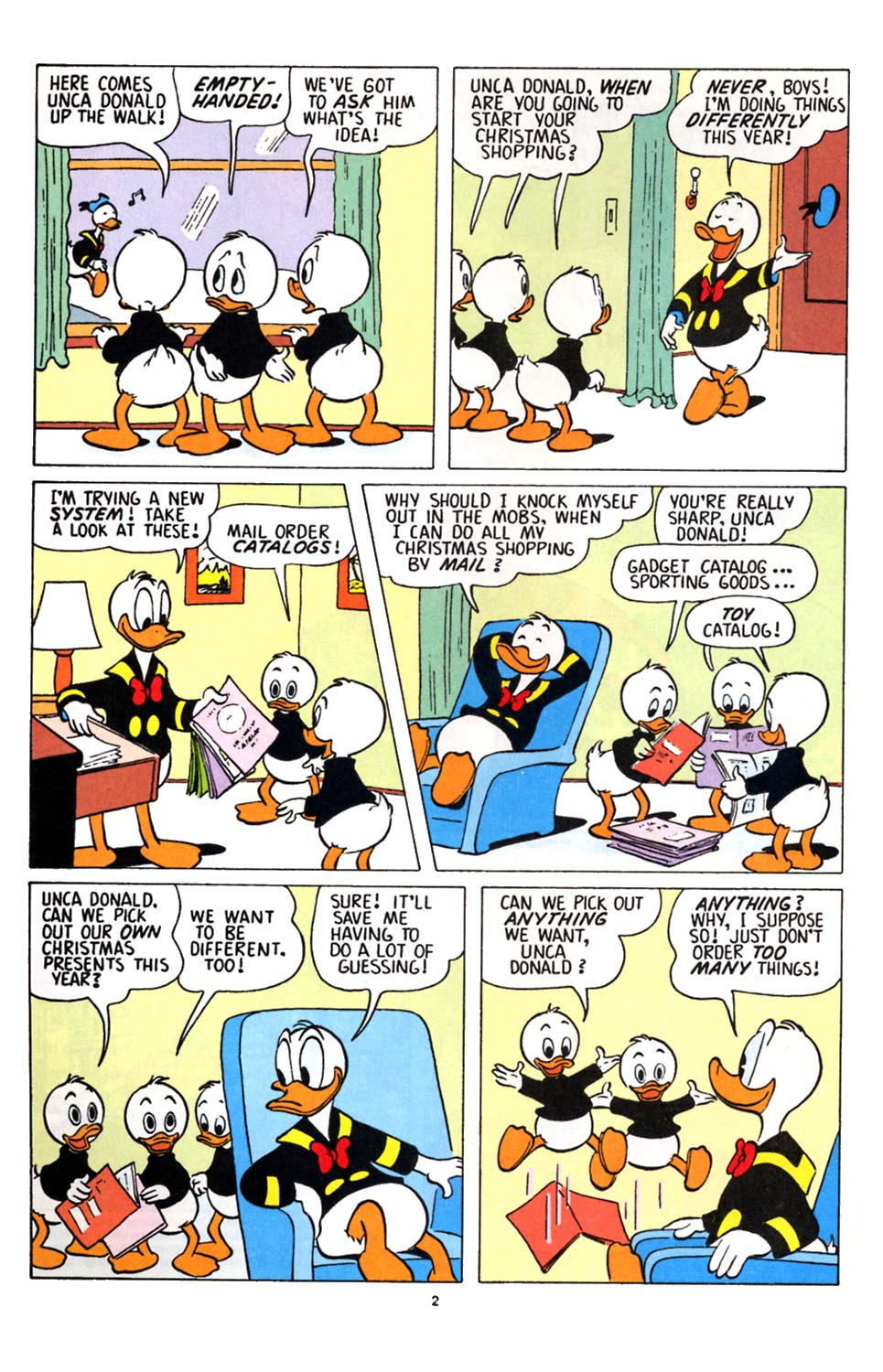 Uncle Scrooge (1953) Issue #251 #251 - English 3