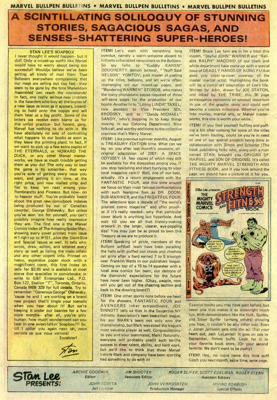Strange Tales (1951) Issue #188 #190 - English 30