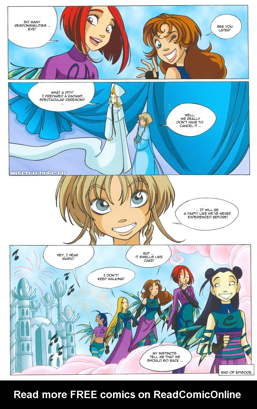 Read online W.i.t.c.h. comic -  Issue #135 - 36