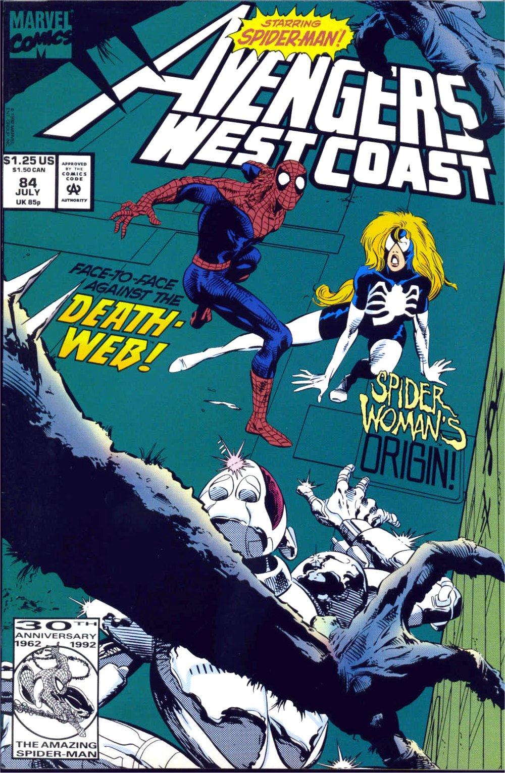 Avengers West Coast (1989) 84 Page 1