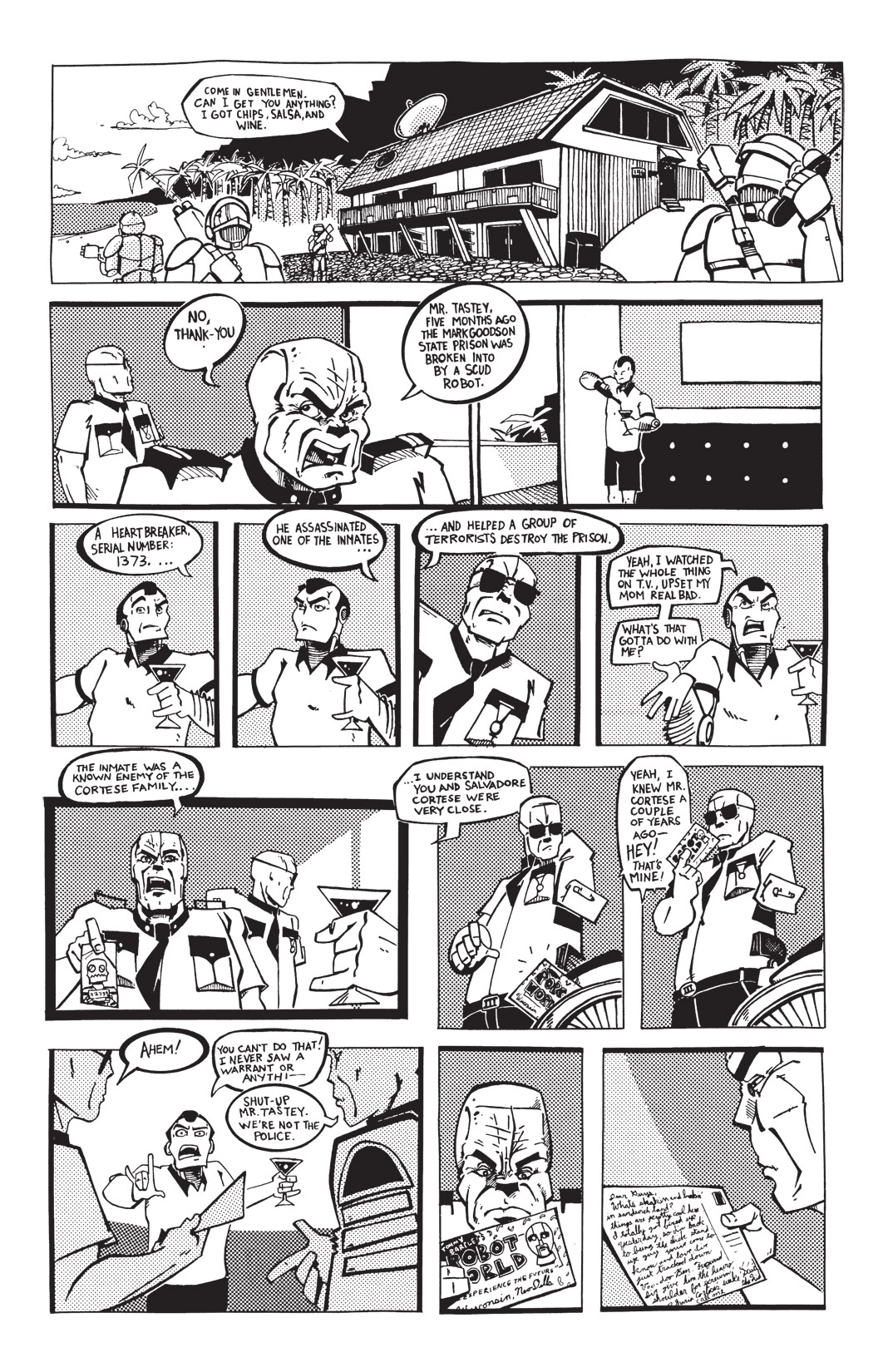 Read online Scud: The Disposable Assassin: The Whole Shebang comic -  Issue # TPB (Part 1) - 208
