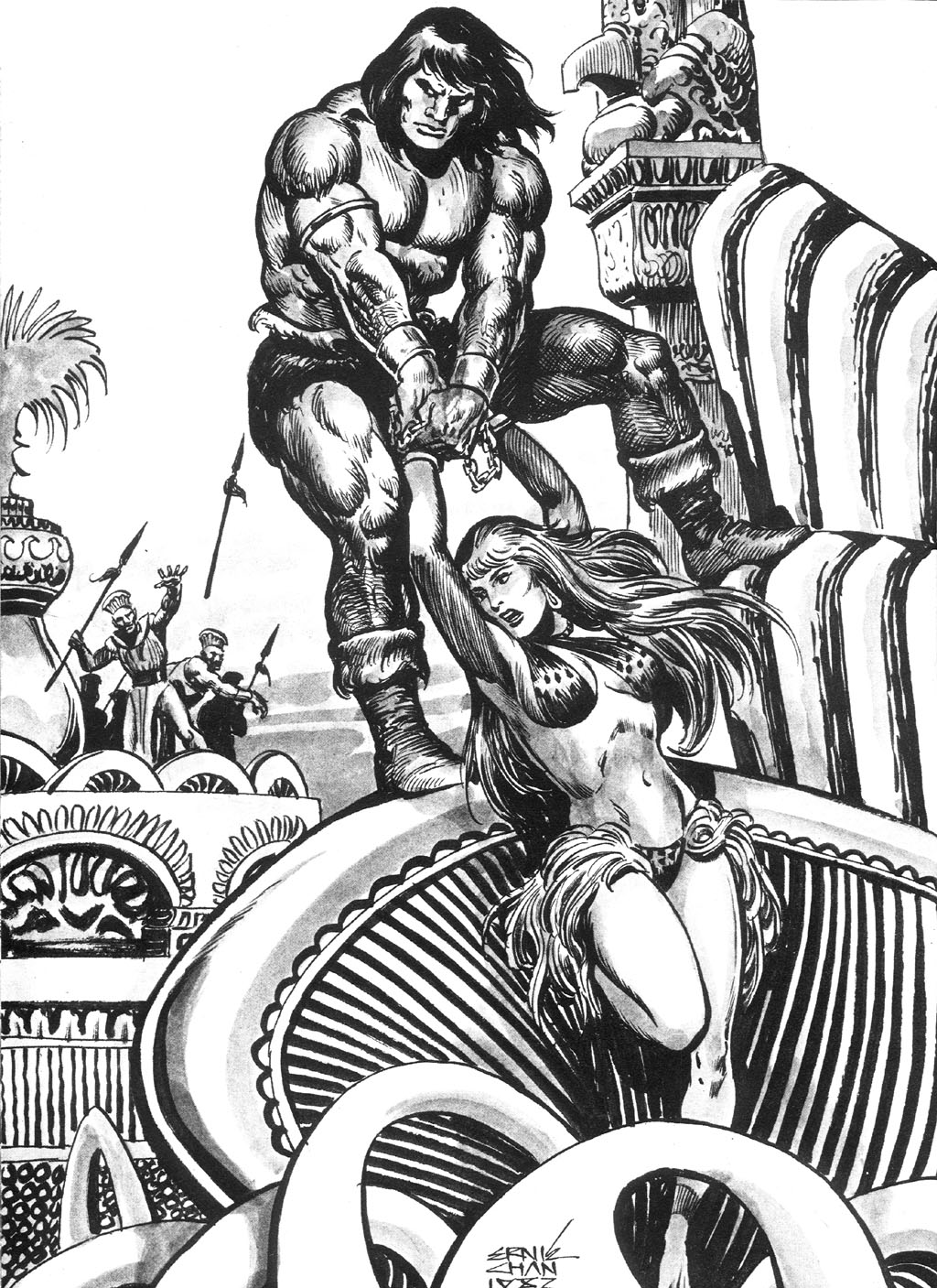 The Savage Sword Of Conan Issue #87 #88 - English 60