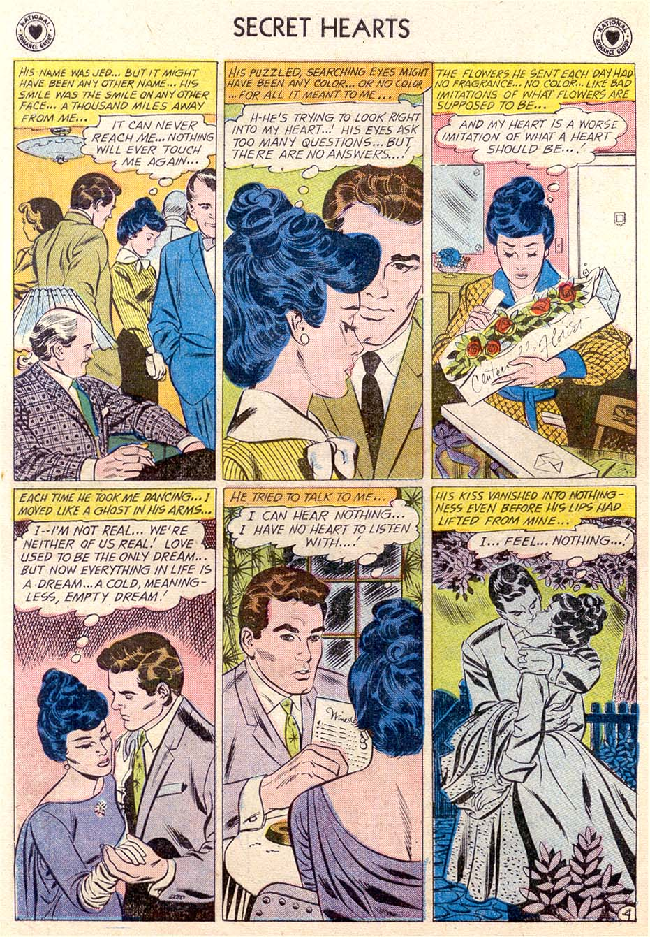 Read online Secret Hearts comic -  Issue #65 - 6
