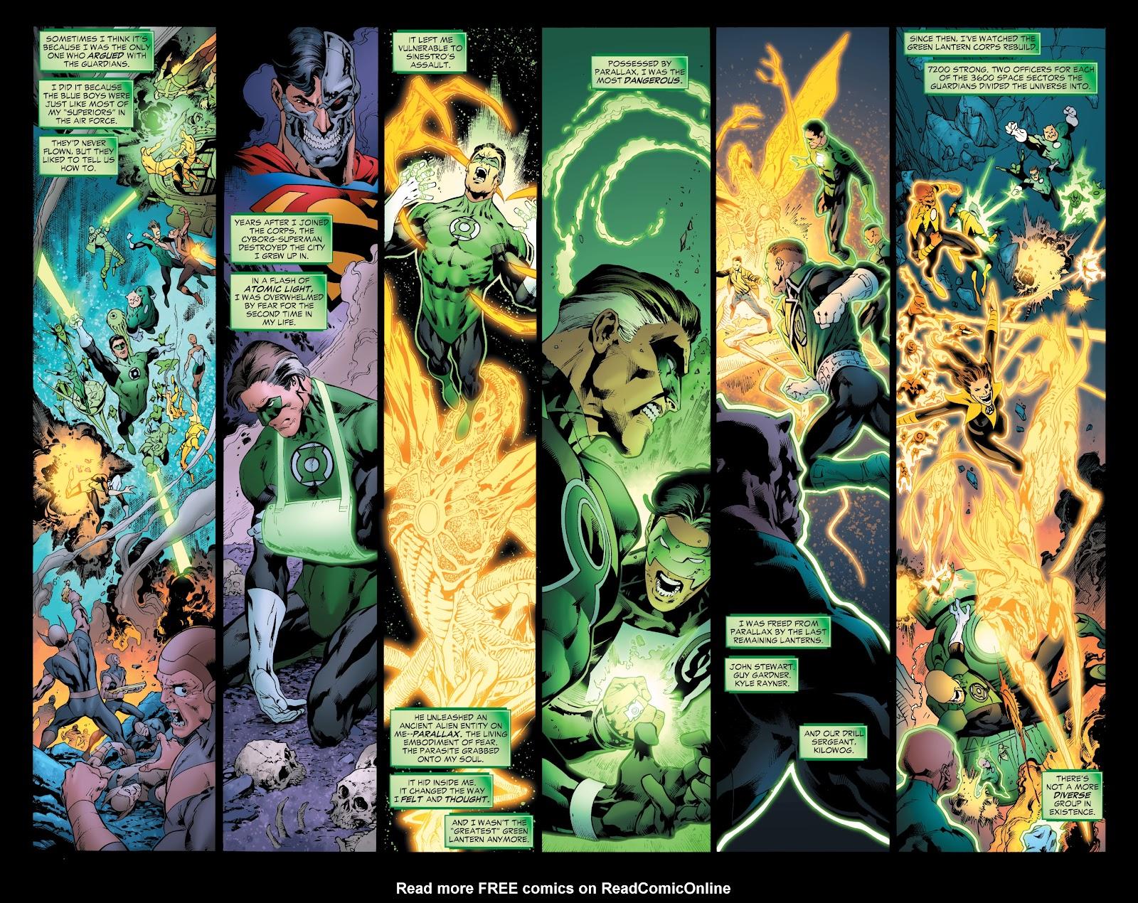 Green Lantern: The Sinestro Corps War Full #1 - English 53