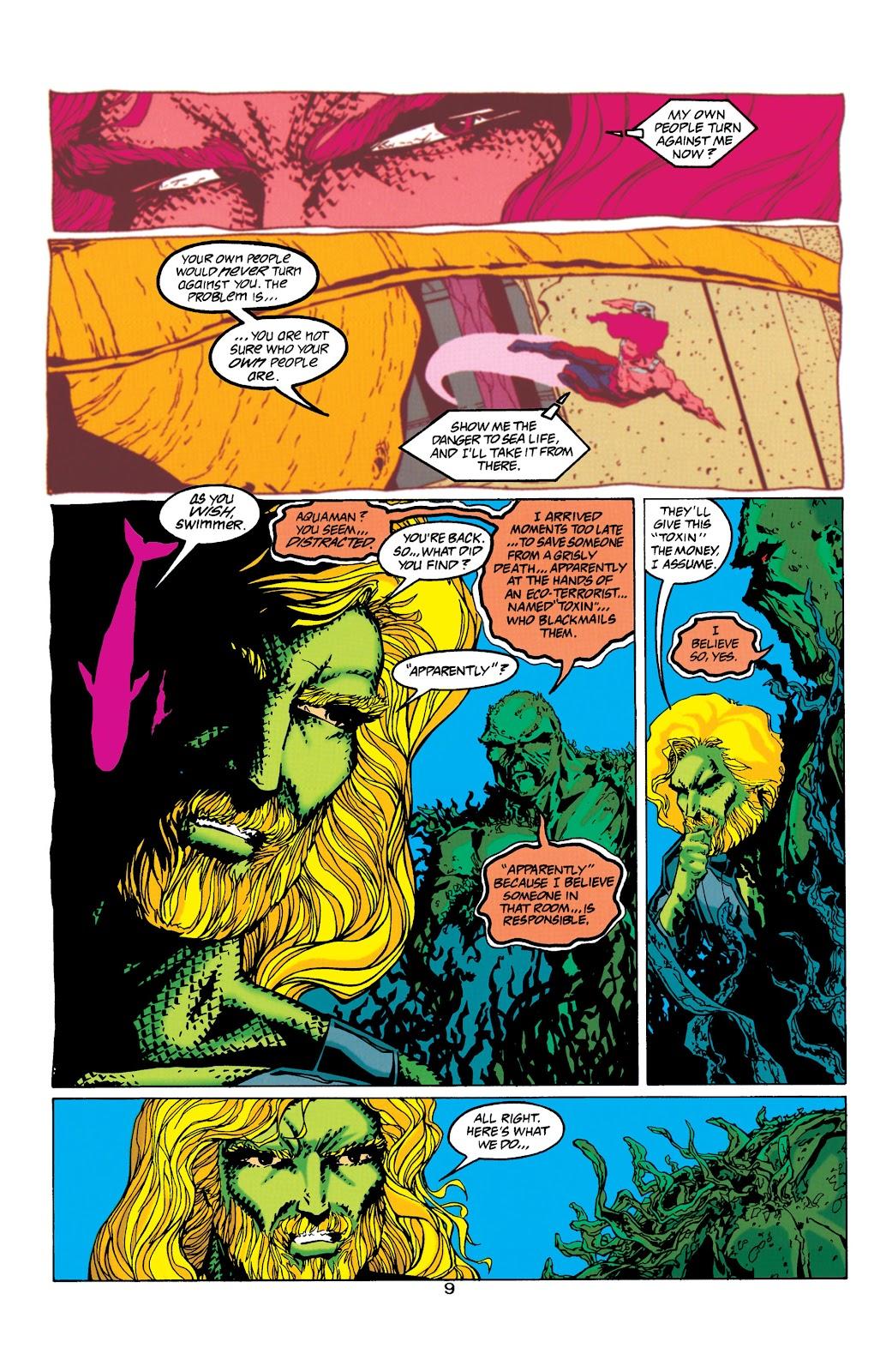 Aquaman (1994) Issue #32 #38 - English 9