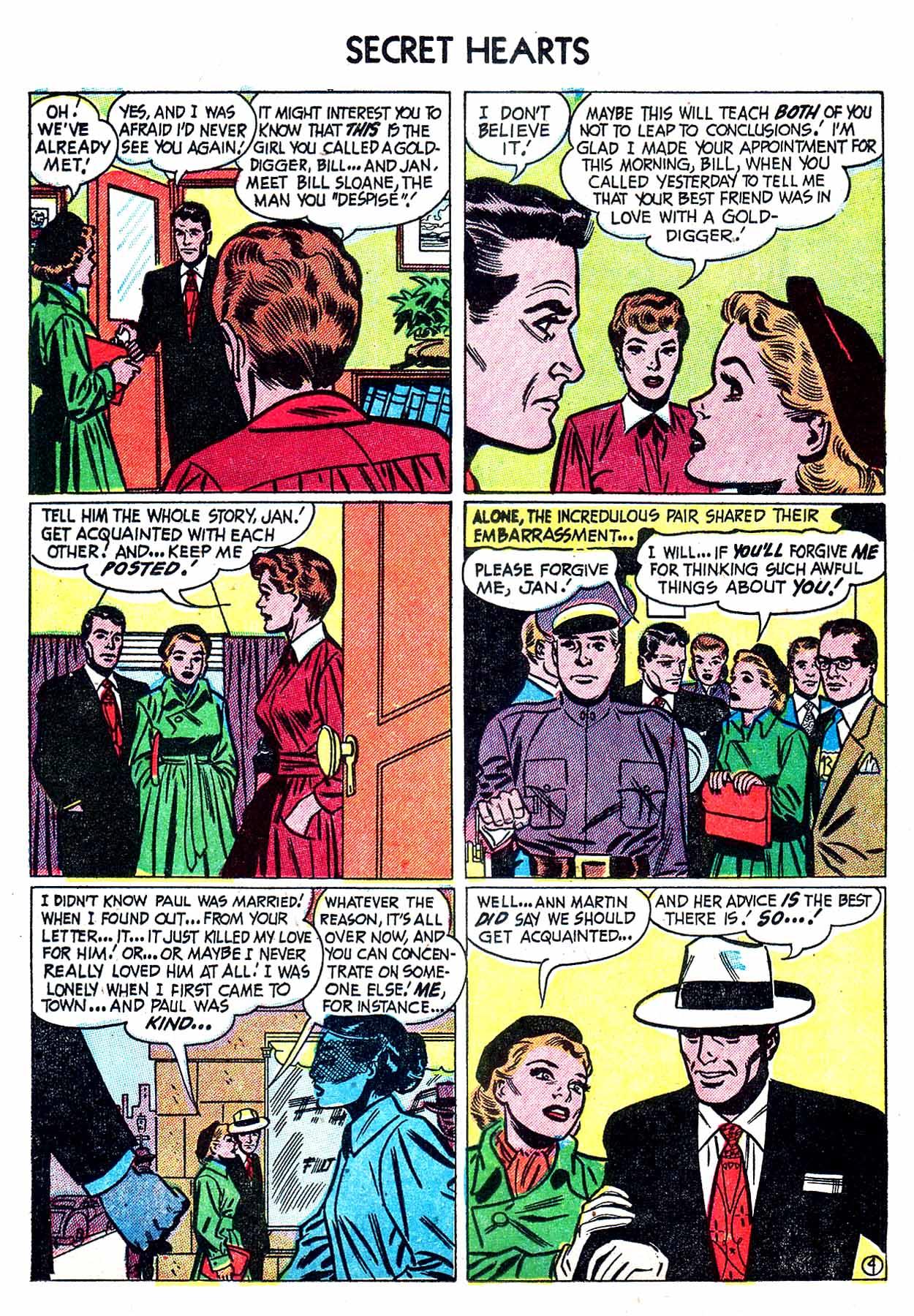 Read online Secret Hearts comic -  Issue #8 - 14