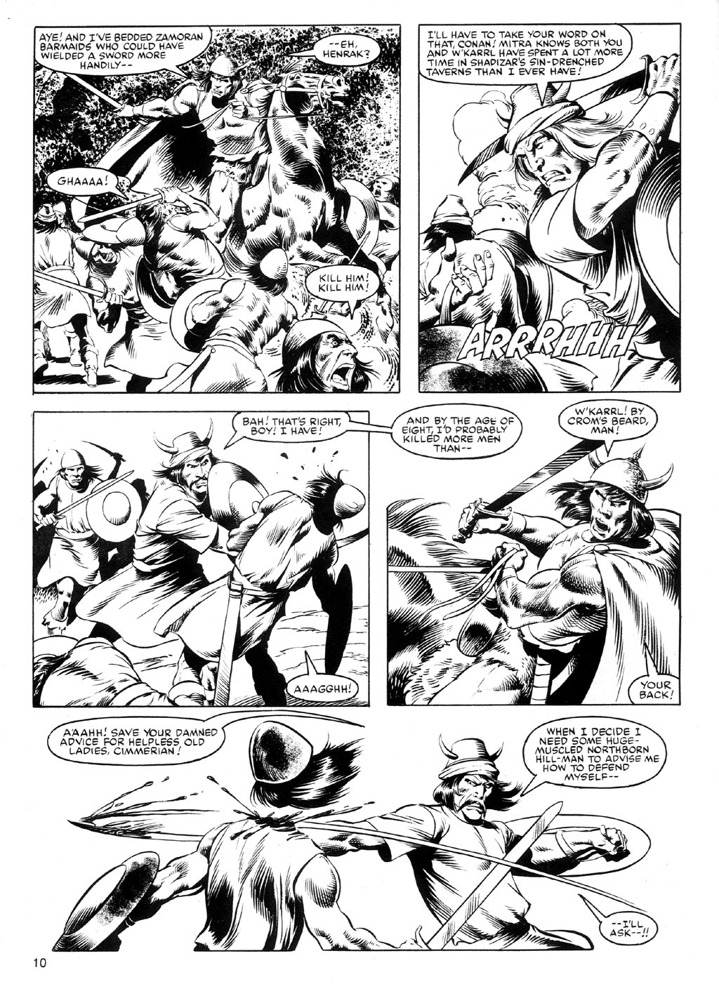 The Savage Sword Of Conan Issue #91 #92 - English 9