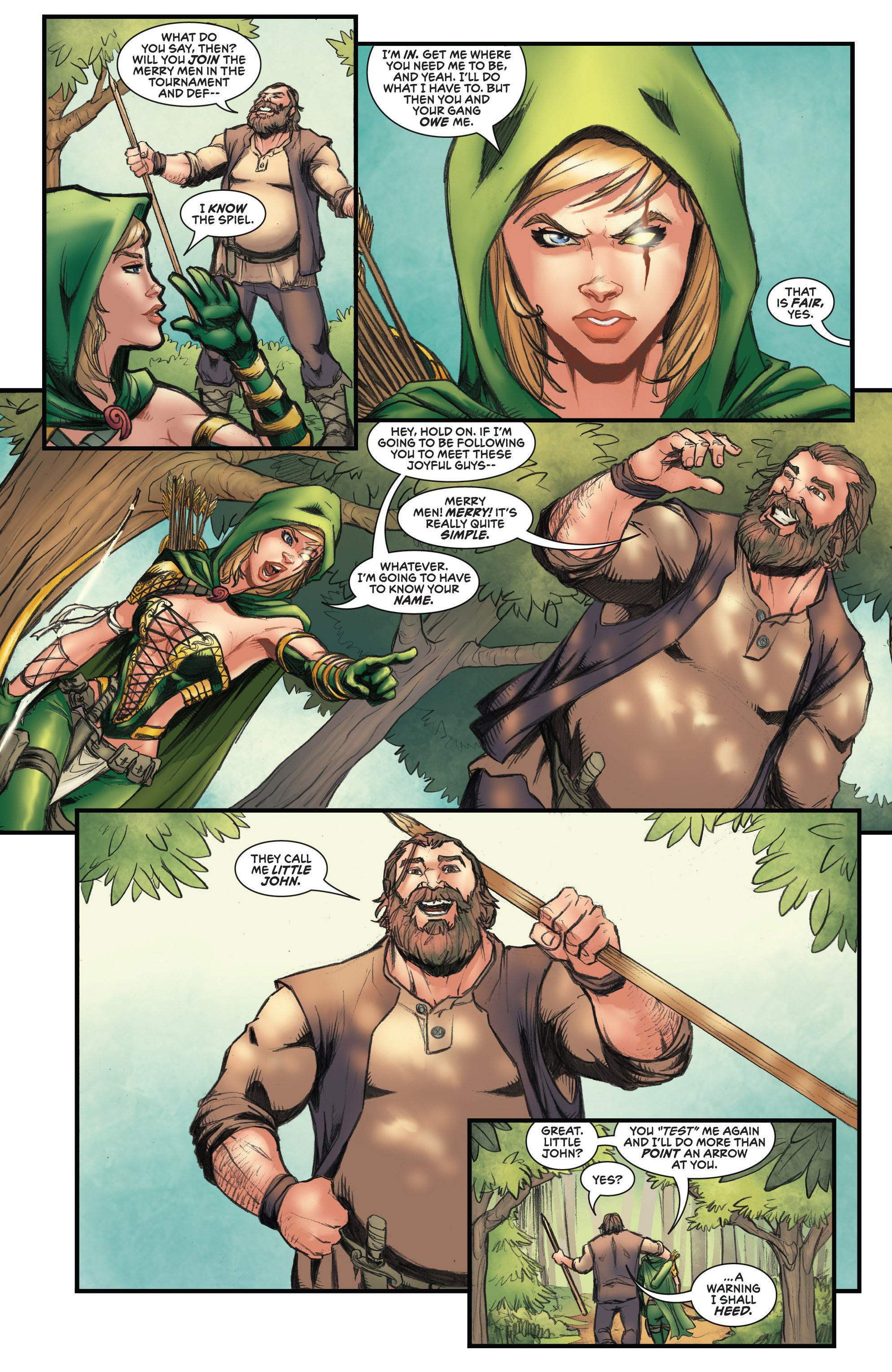 Read online Grimm Fairy Tales presents Robyn Hood (2012) comic -  Issue #3 - 11