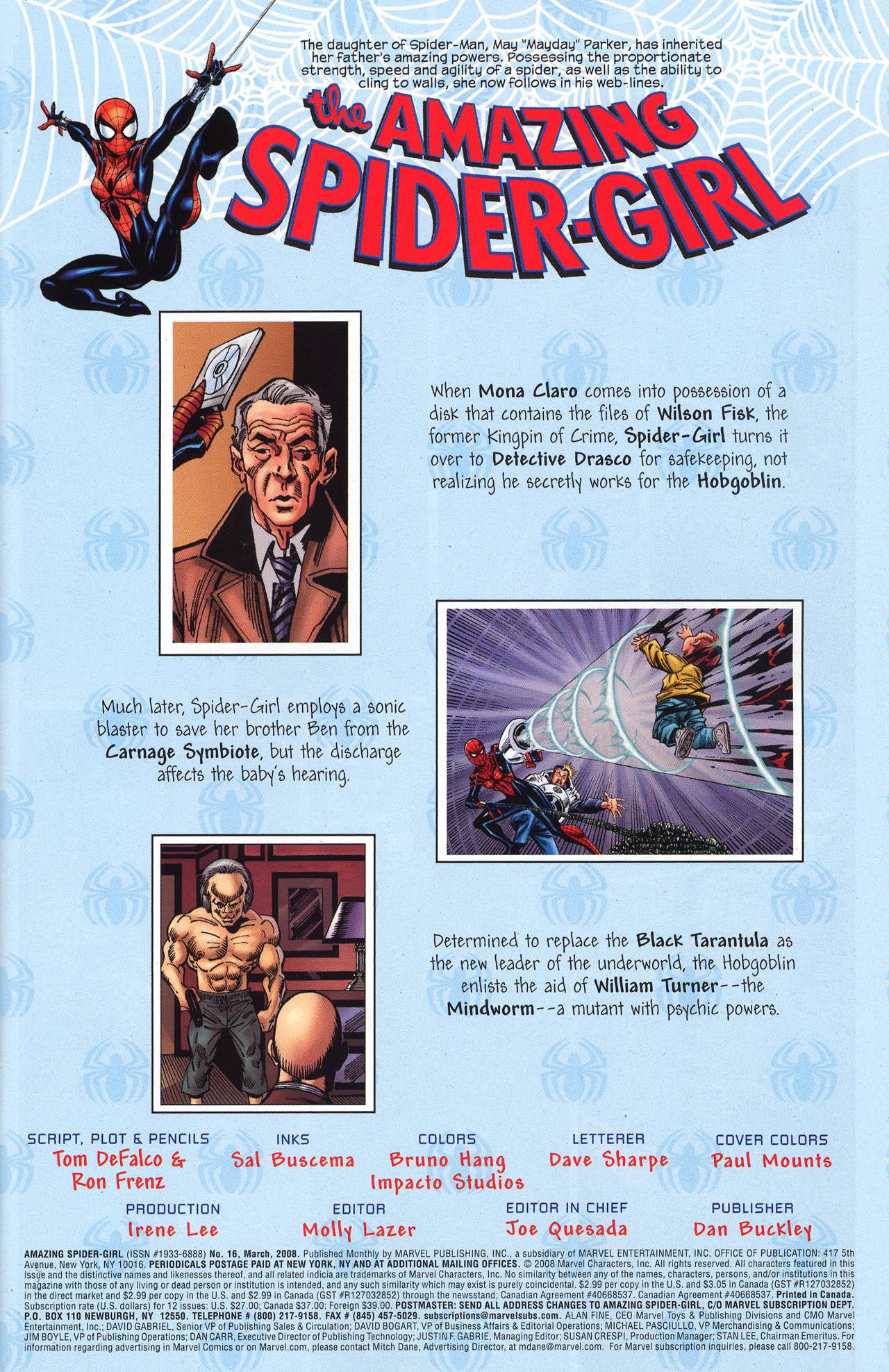 Amazing Spider-Girl #16 #15 - English 3