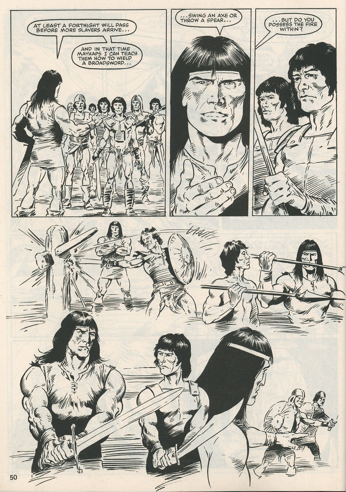 The Savage Sword Of Conan Issue #115 #116 - English 50