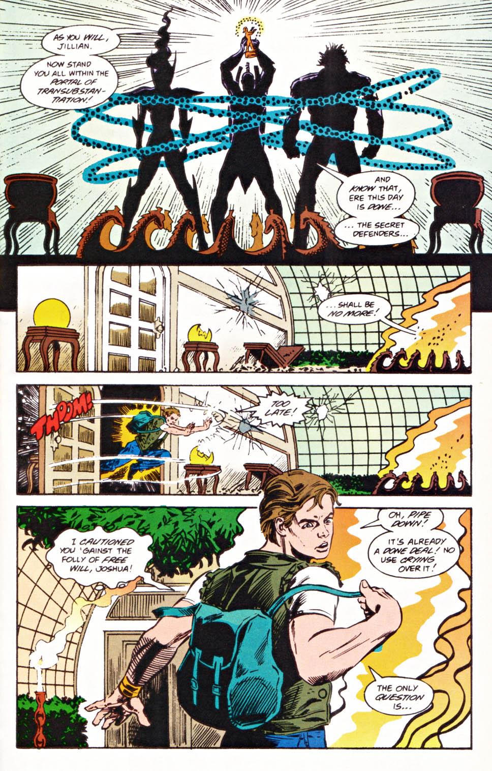 Read online Secret Defenders comic -  Issue #22 - 21