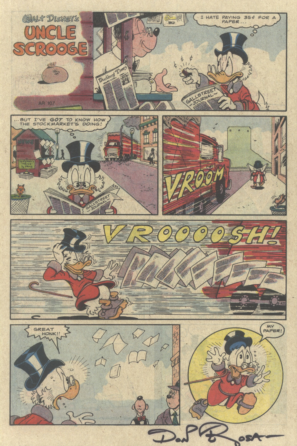Uncle Scrooge (1953) Issue #226 #226 - English 15
