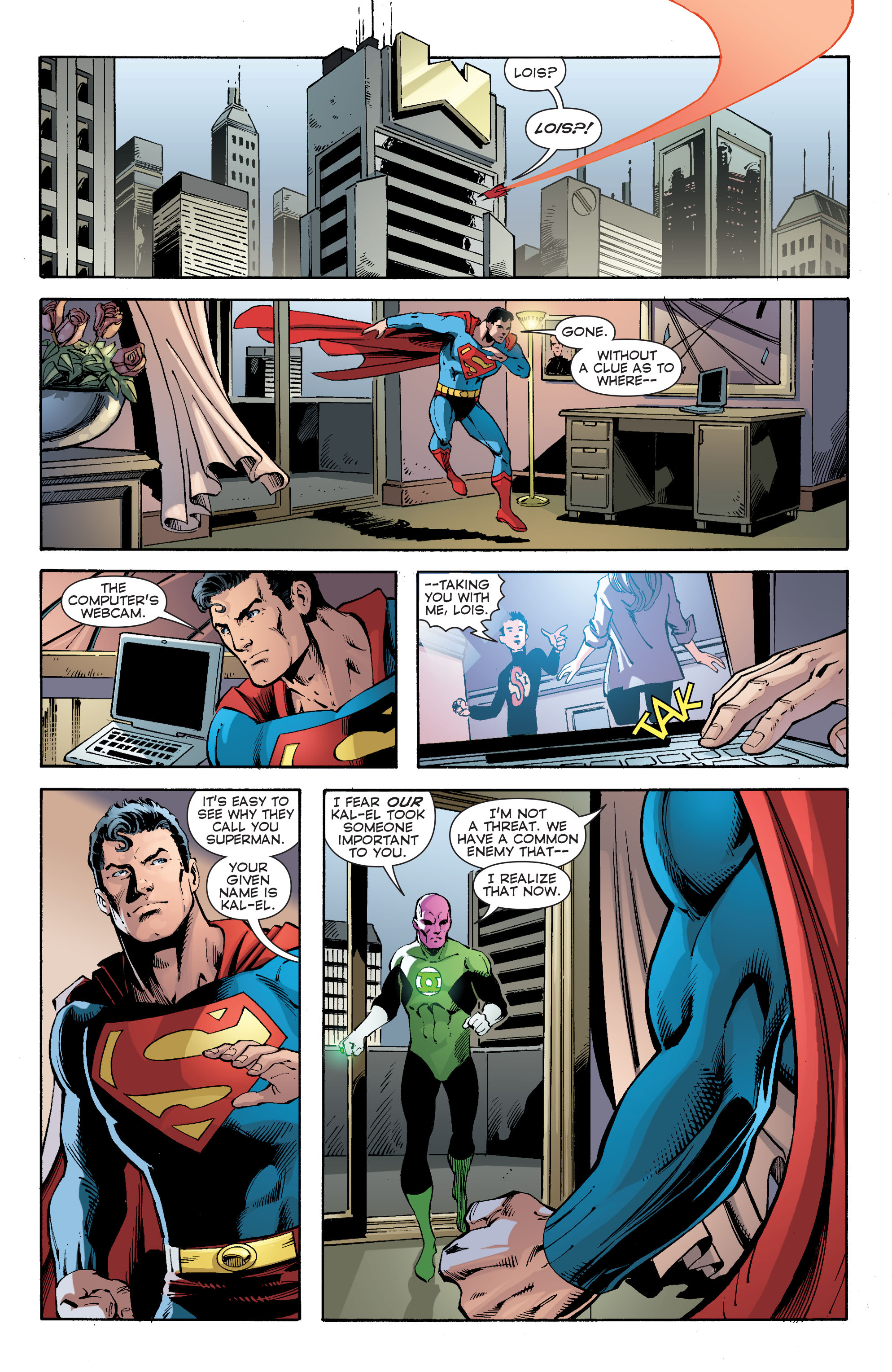 Read online Convergence Superman comic -  Issue #2 - 14