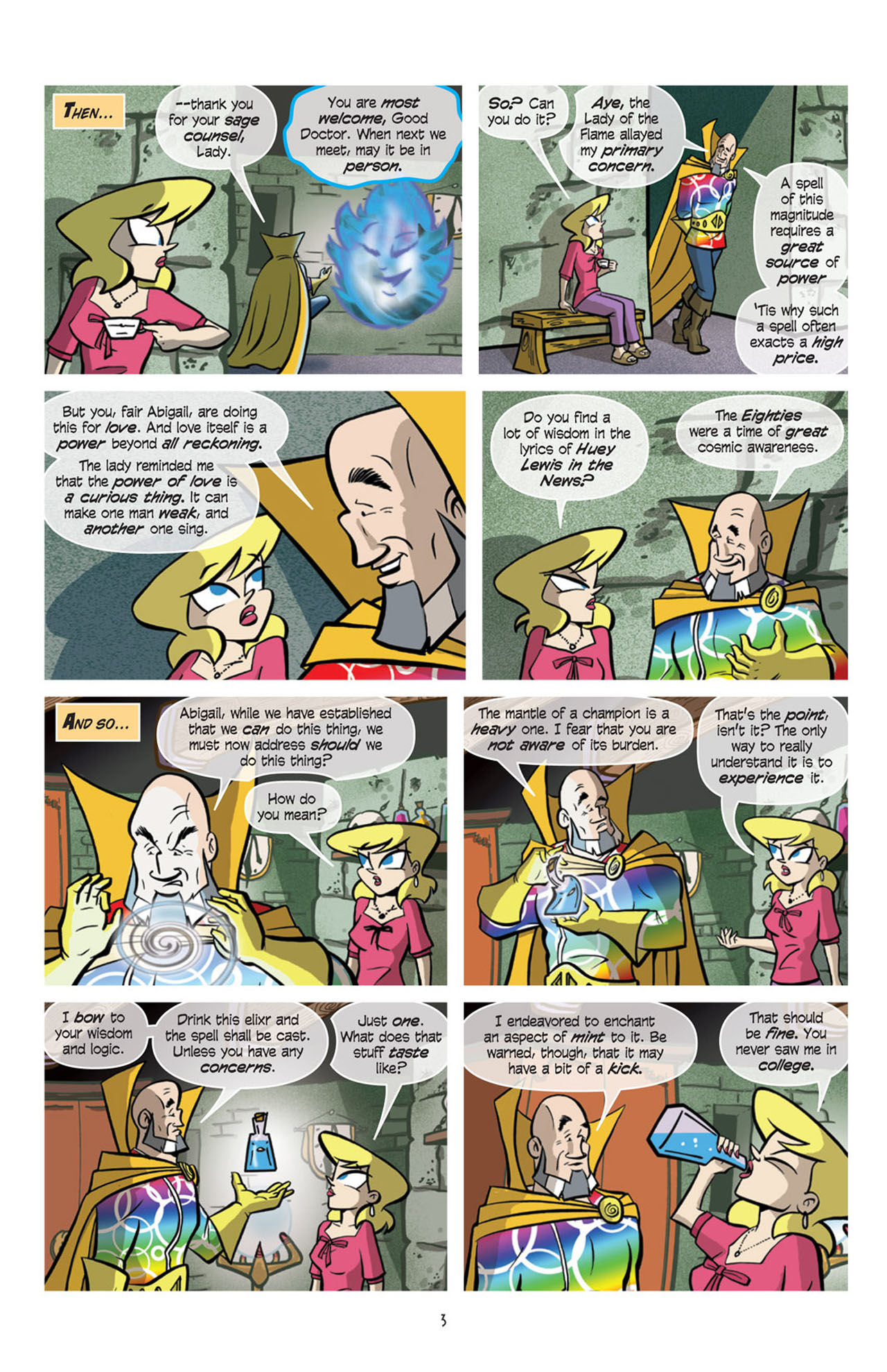 Read online Love and Capes comic -  Issue #10 - 5