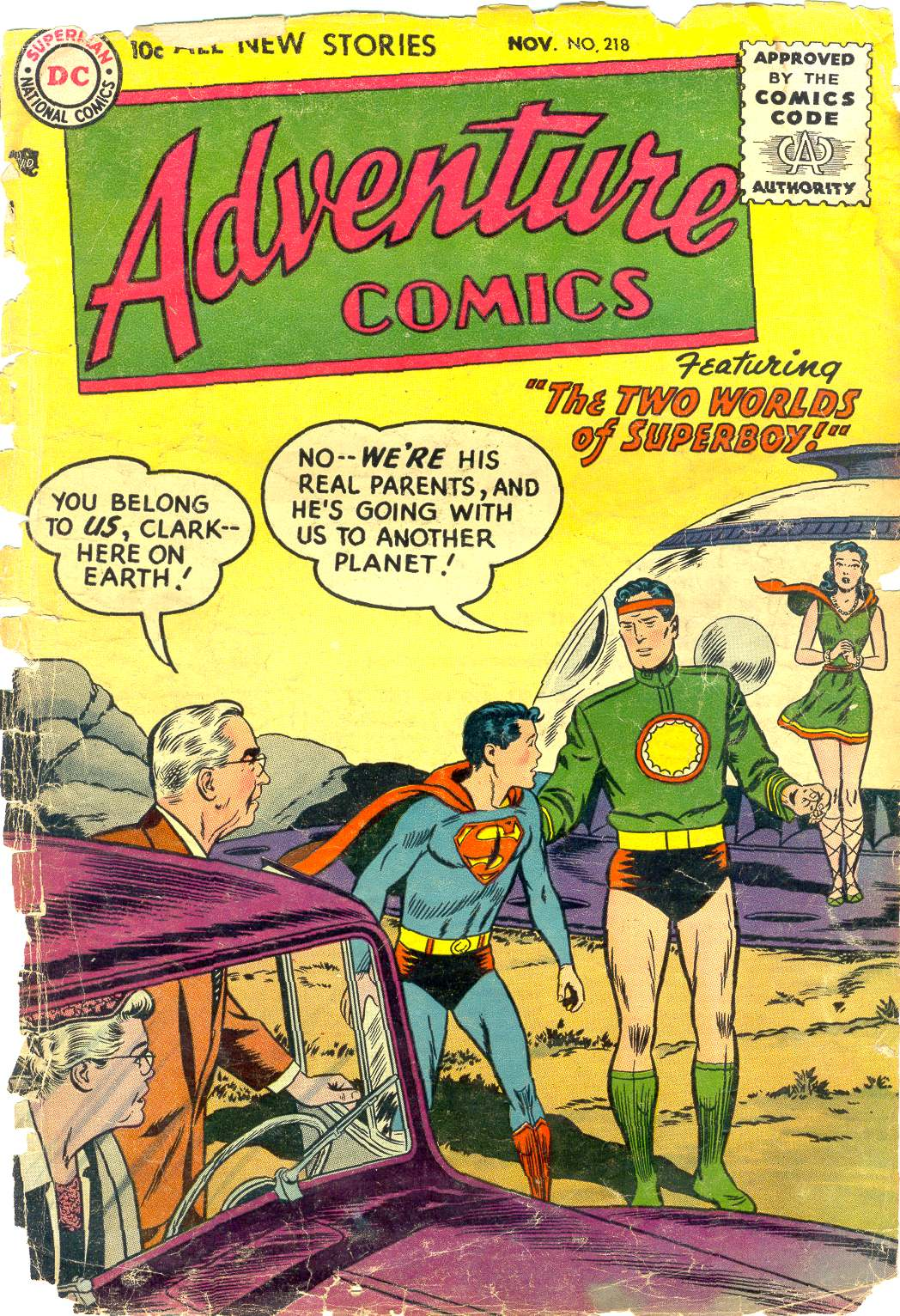 Read online Adventure Comics (1938) comic -  Issue #218 - 1