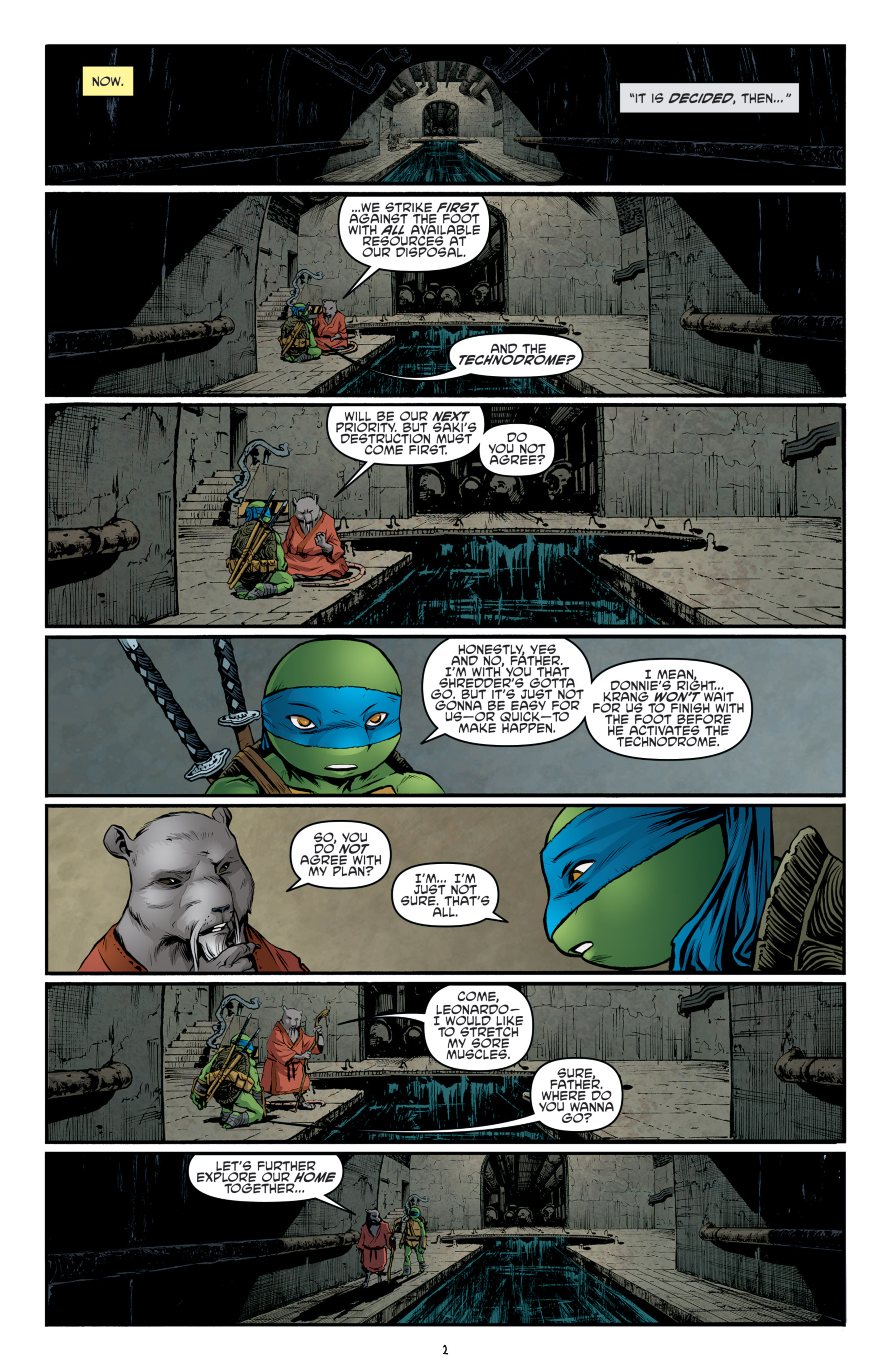 Read online Teenage Mutant Ninja Turtles (2011) comic -  Issue #36 - 5