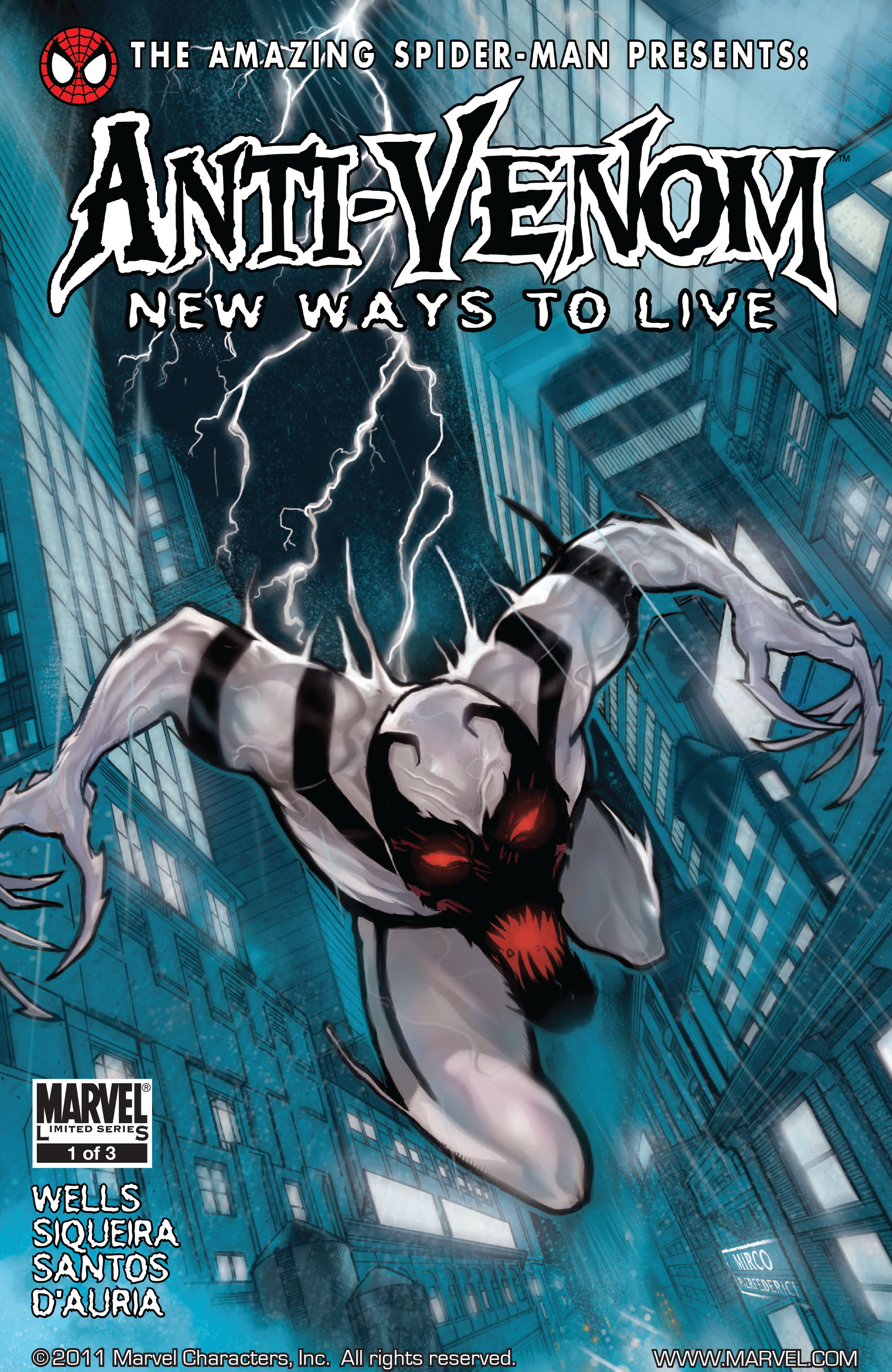 Amazing Spider-Man Presents: Anti-Venom - New Ways To Live 1 Page 1