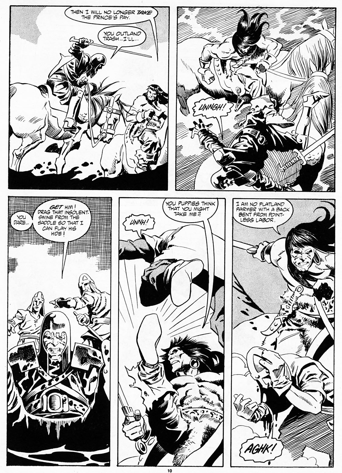 The Savage Sword Of Conan Issue #186 #187 - English 12