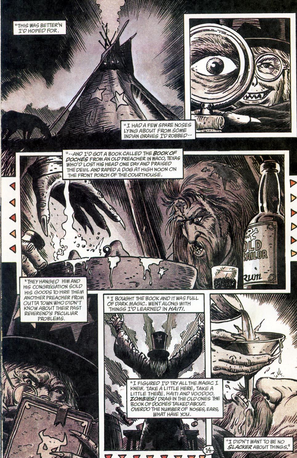 Jonah Hex: Two-Gun Mojo Issue #4 #4 - English 16
