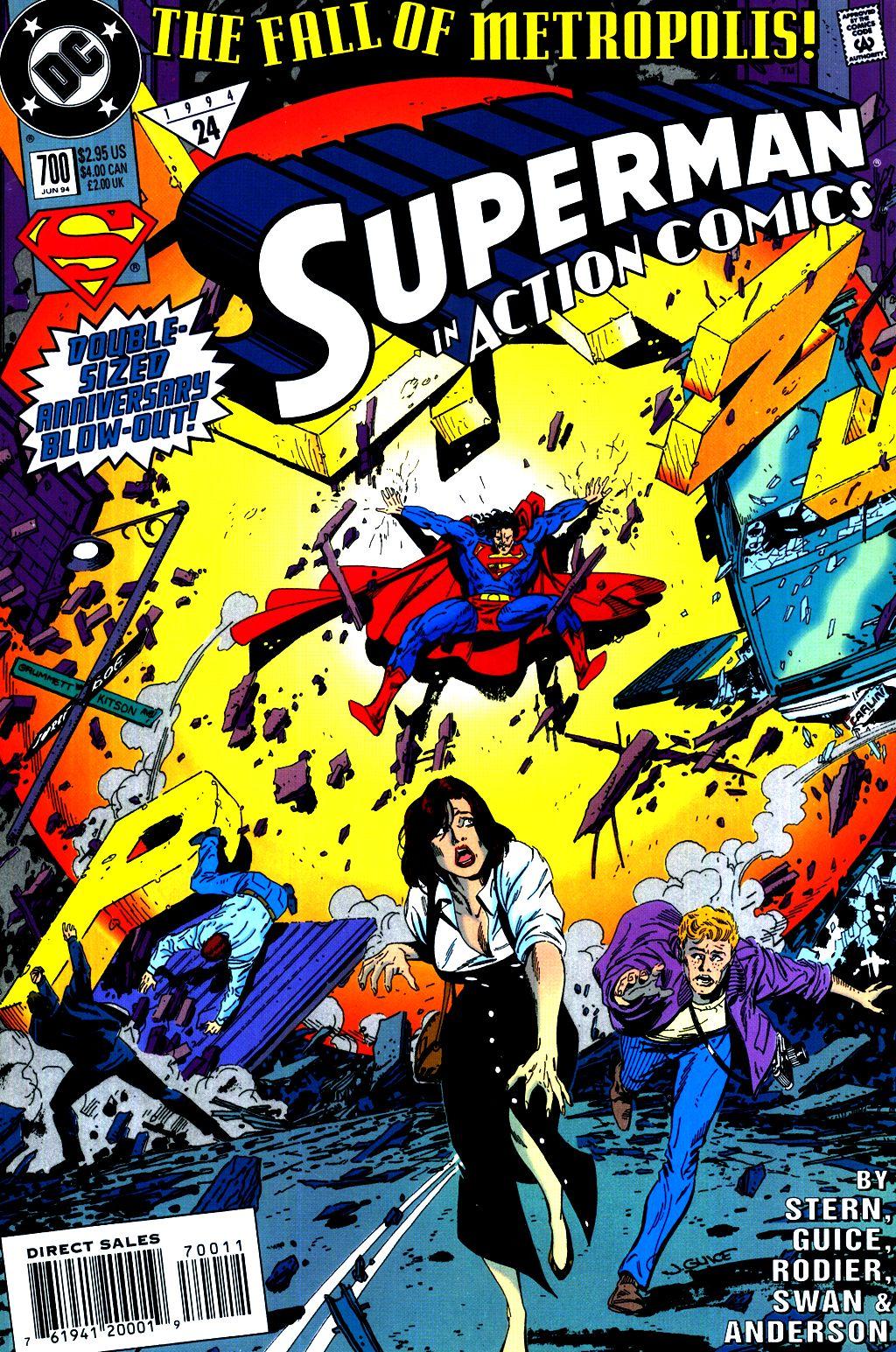 Action Comics (1938) 700 Page 1