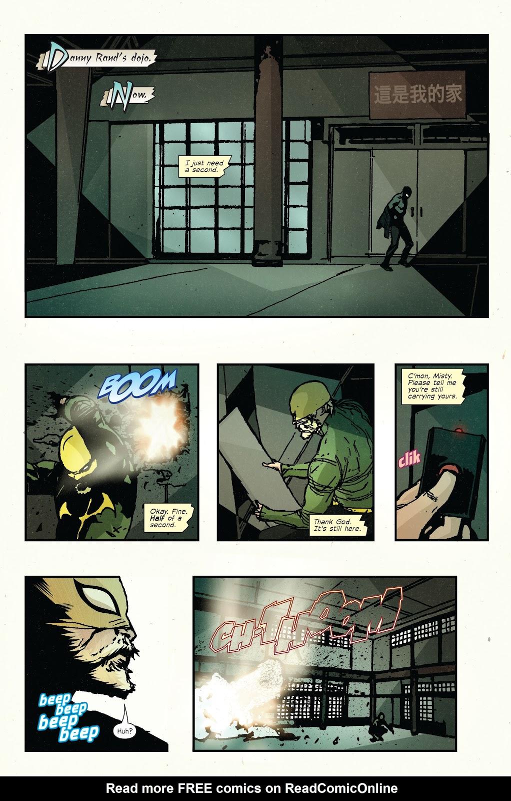The Immortal Iron Fist Issue #27 #28 - English 11