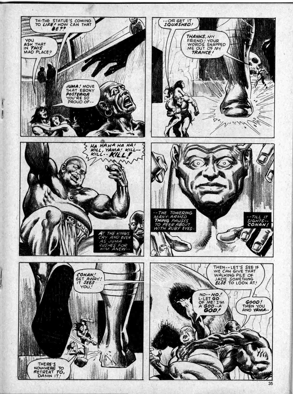 The Savage Sword Of Conan Issue #59 #60 - English 35