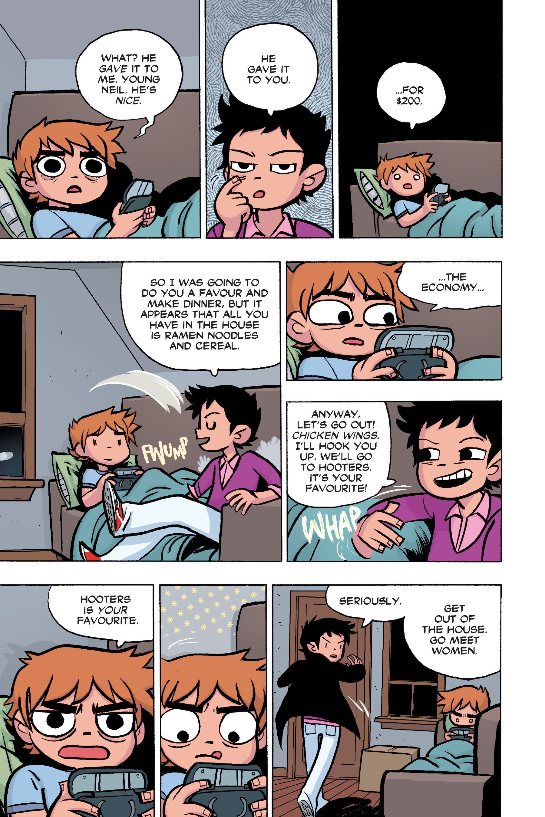 Read online Scott Pilgrim comic -  Issue #6 - 16