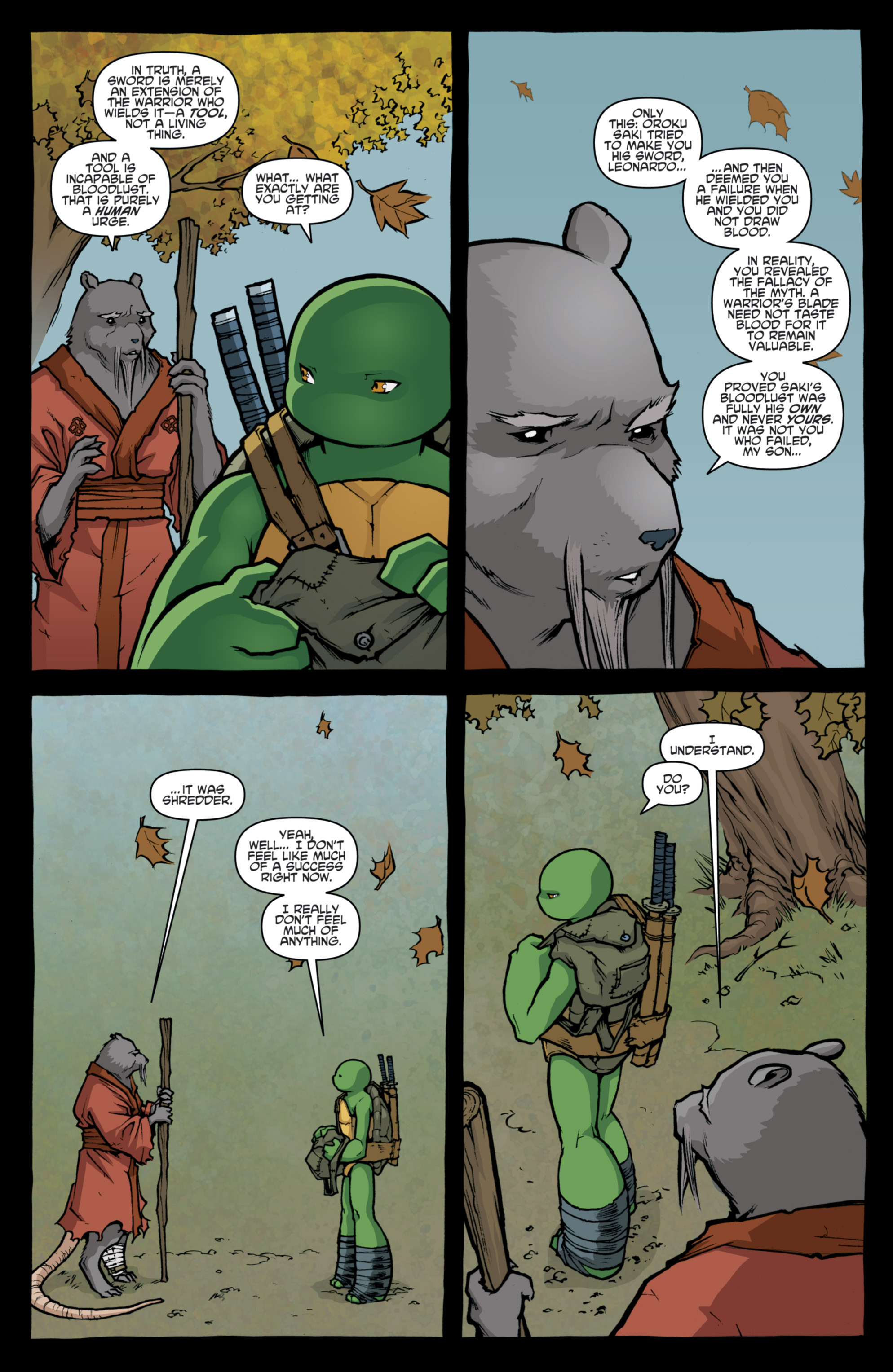 Read online Teenage Mutant Ninja Turtles (2011) comic -  Issue #31 - 13