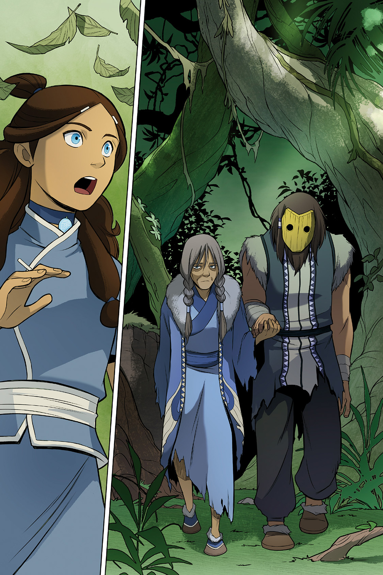 Read online Nickelodeon Avatar: The Last Airbender - The Search comic -  Issue # Part 2 - 59